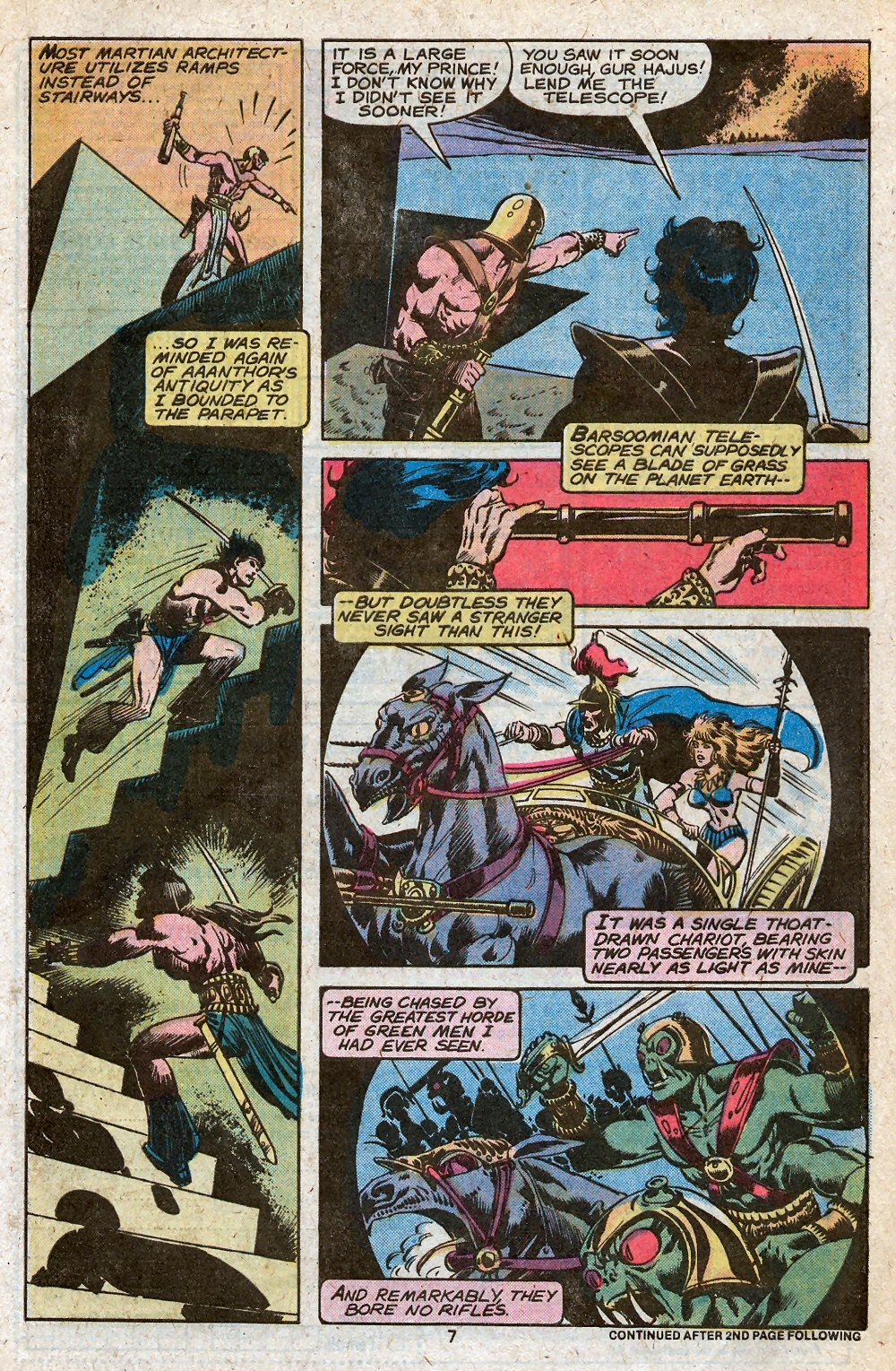 John Carter Warlord of Mars issue 28 - Page 9