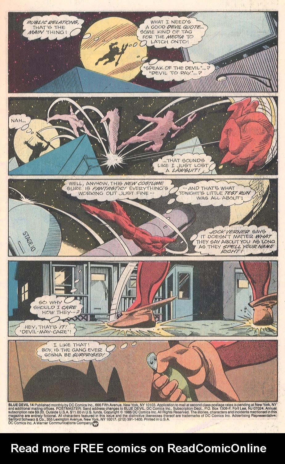 Blue Devil 14 Page 2