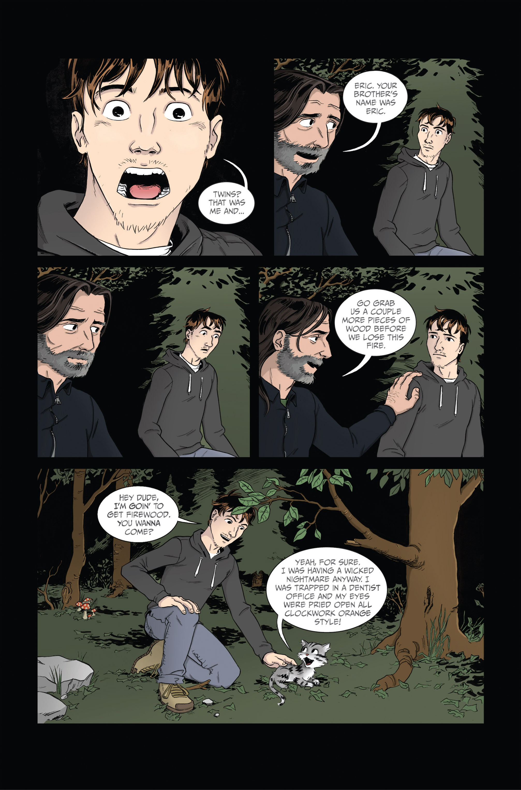 Read online Ehmm Theory: Everything & Small Doses comic -  Issue #2 - 15