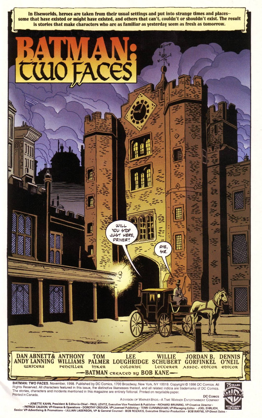 Batman: Two Faces issue Full - Page 2