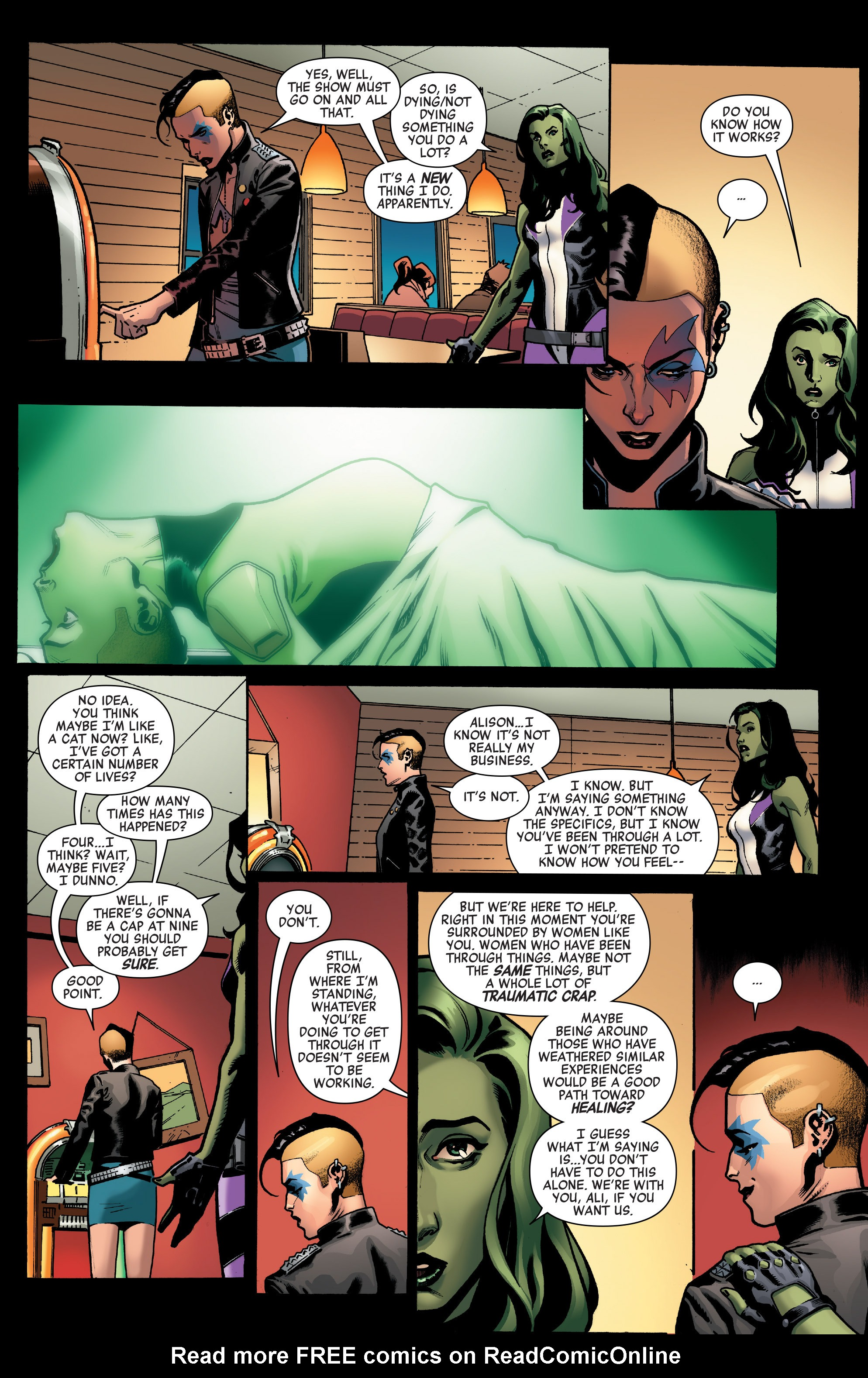 Read online A-Force (2016) comic -  Issue #4 - 15