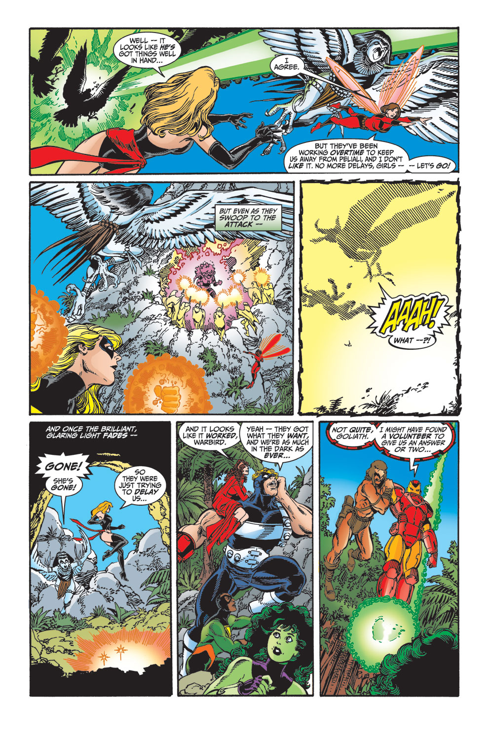 Read online Avengers (1998) comic -  Issue #29 - 6