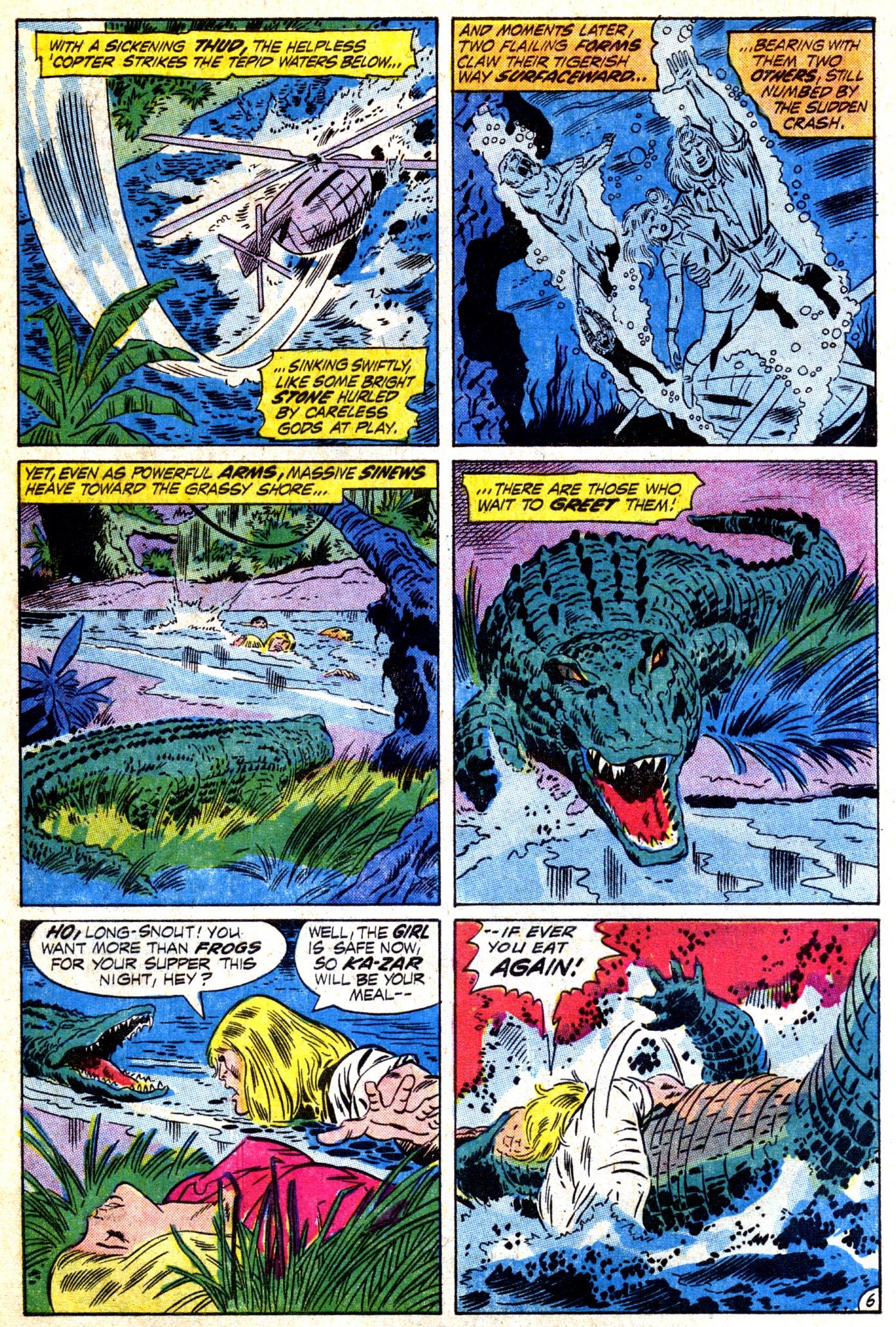 Read online Astonishing Tales (1970) comic -  Issue #12 - 7