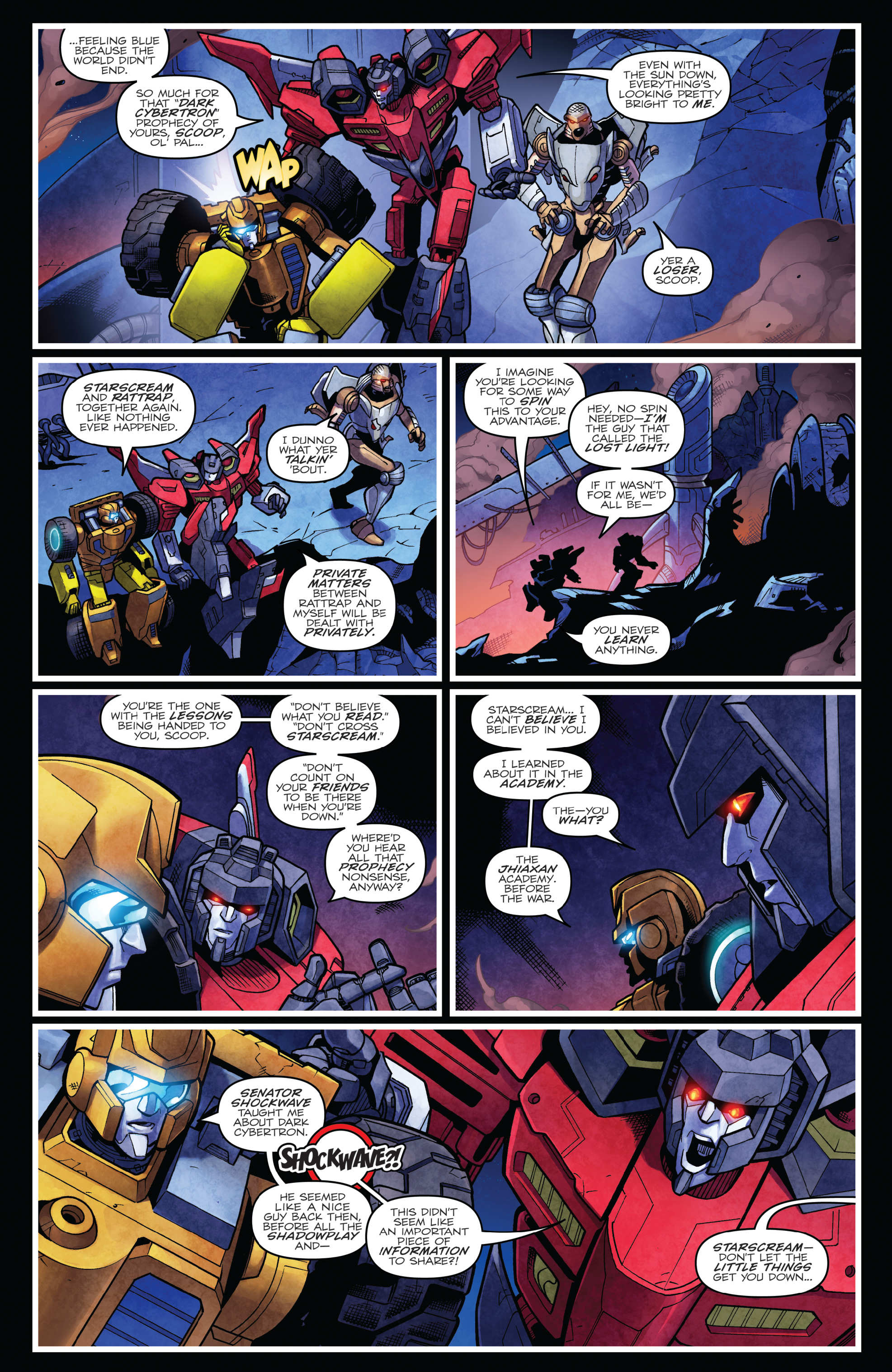 Read online The Transformers: Dark Cybertron Finale comic -  Issue # Full - 96