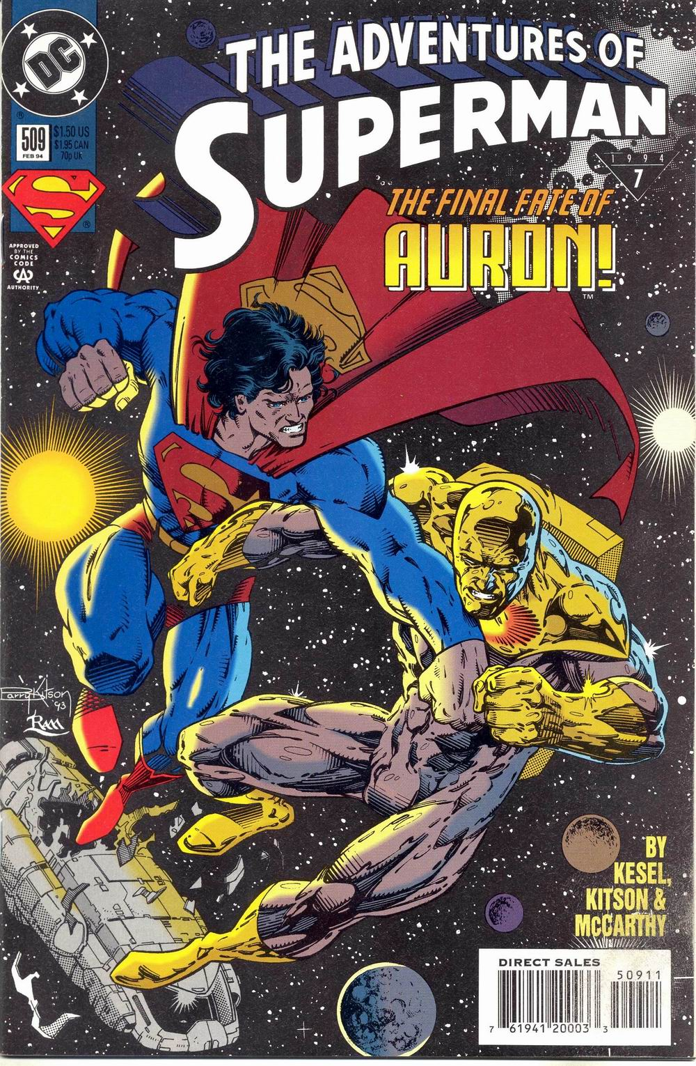 Read online Adventures of Superman (1987) comic -  Issue #509 - 1