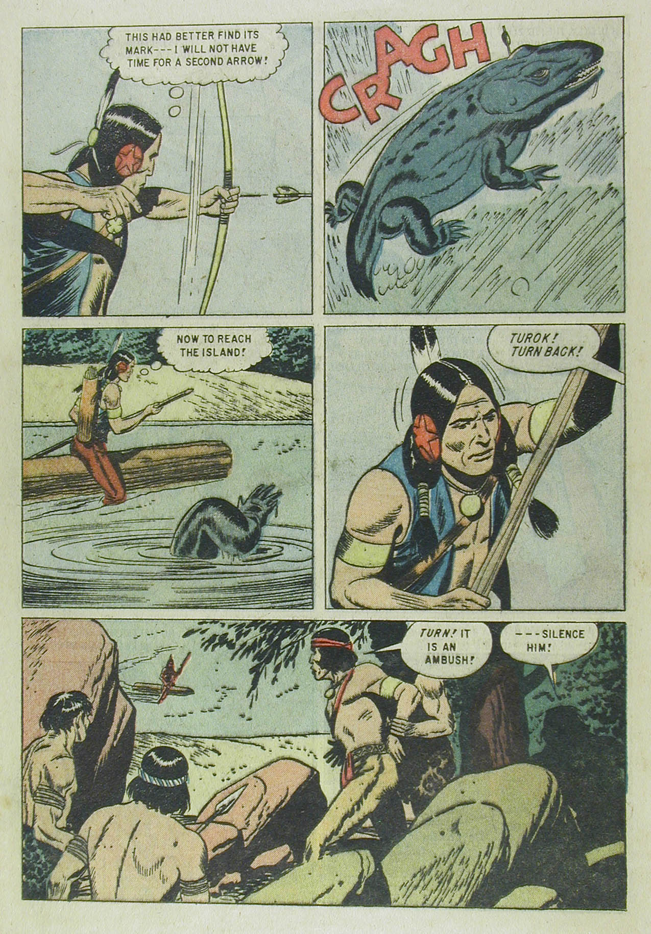 Read online Turok, Son of Stone comic -  Issue #13 - 12