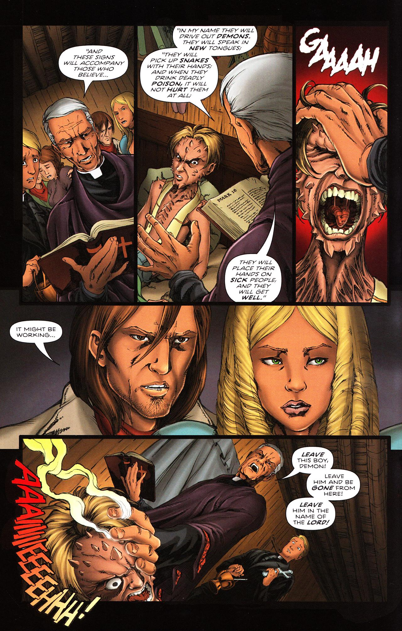 Read online Salem's Daughter: The Haunting comic -  Issue #2 - 6
