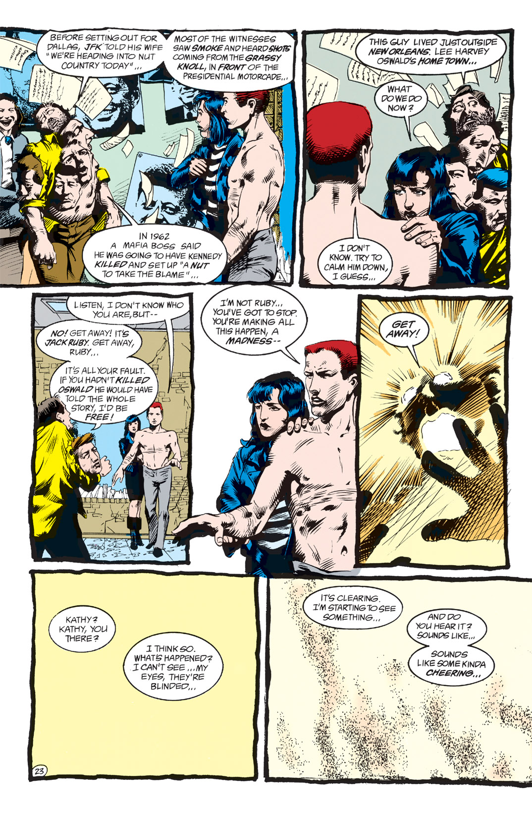 Read online Shade, the Changing Man comic -  Issue #2 - 25