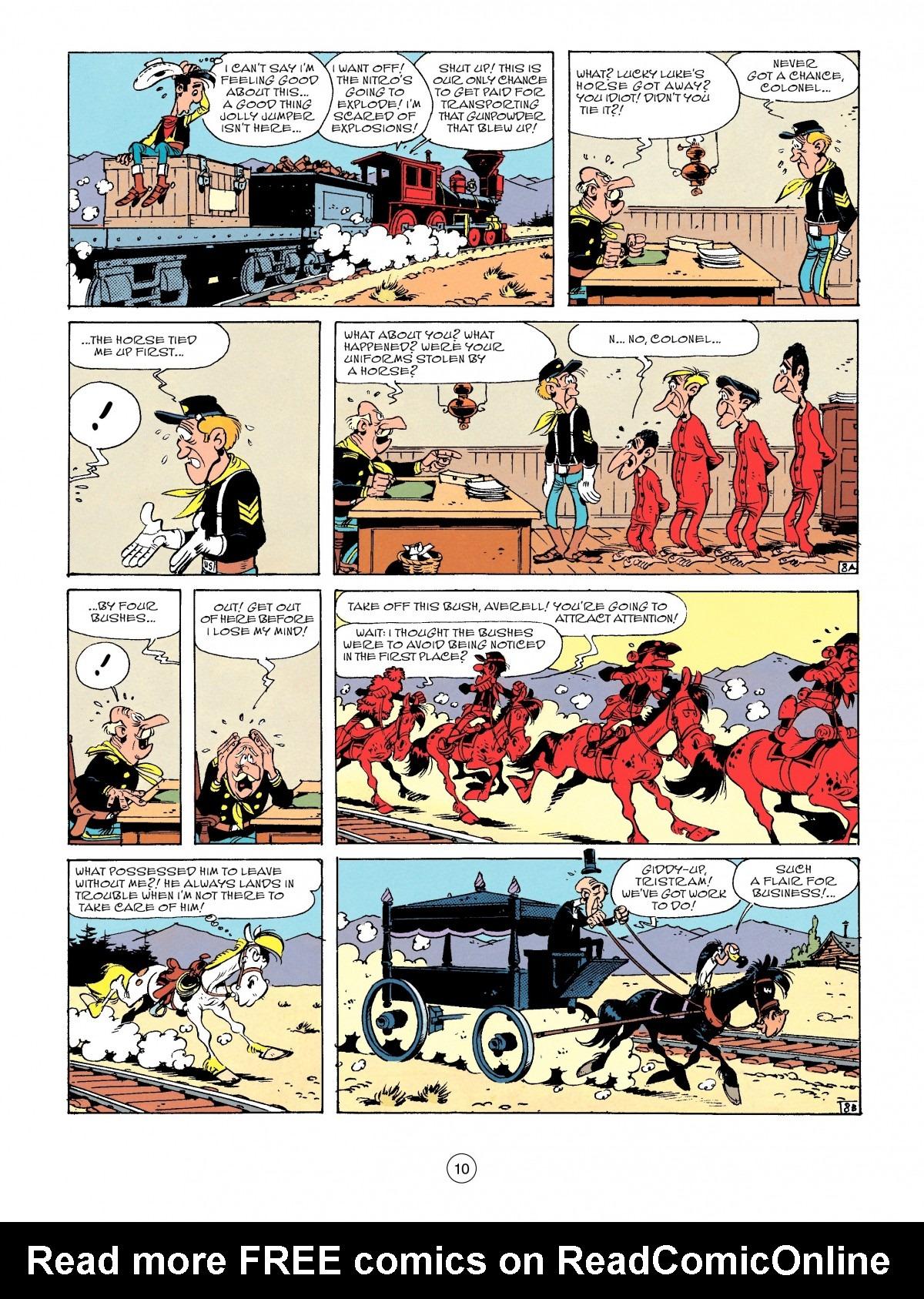 Read online A Lucky Luke Adventure comic -  Issue #53 - 10