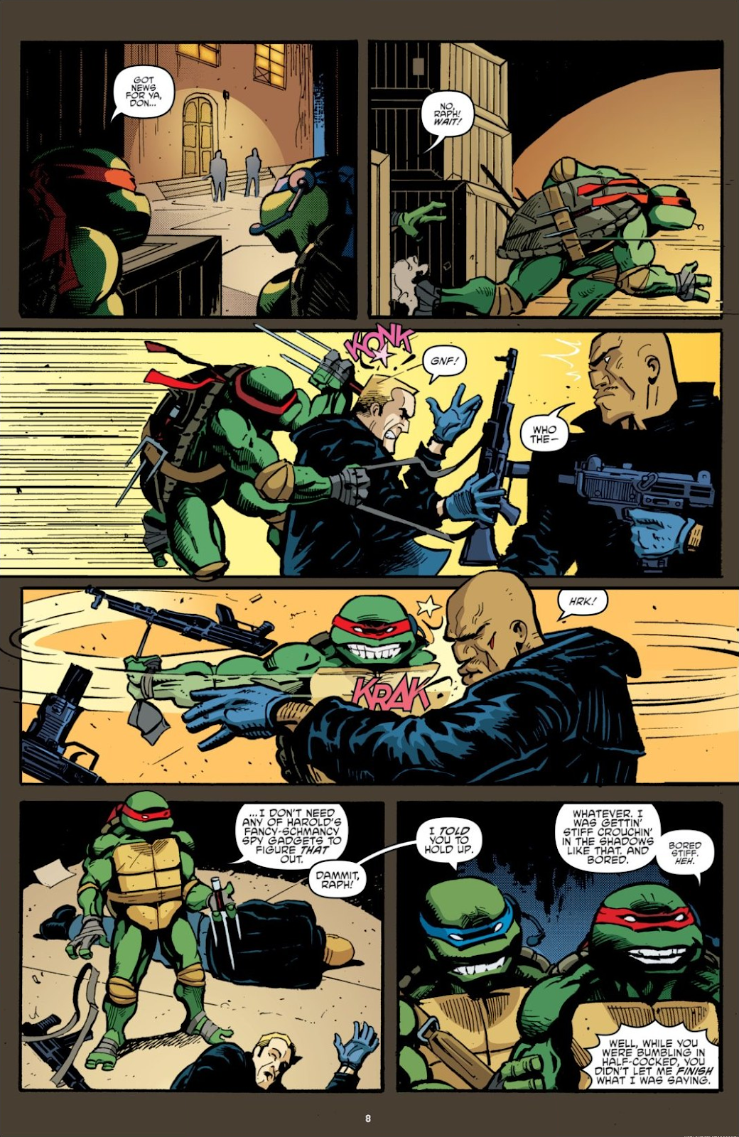 Read online Teenage Mutant Ninja Turtles: The IDW Collection comic -  Issue # TPB 7 (Part 1) - 8
