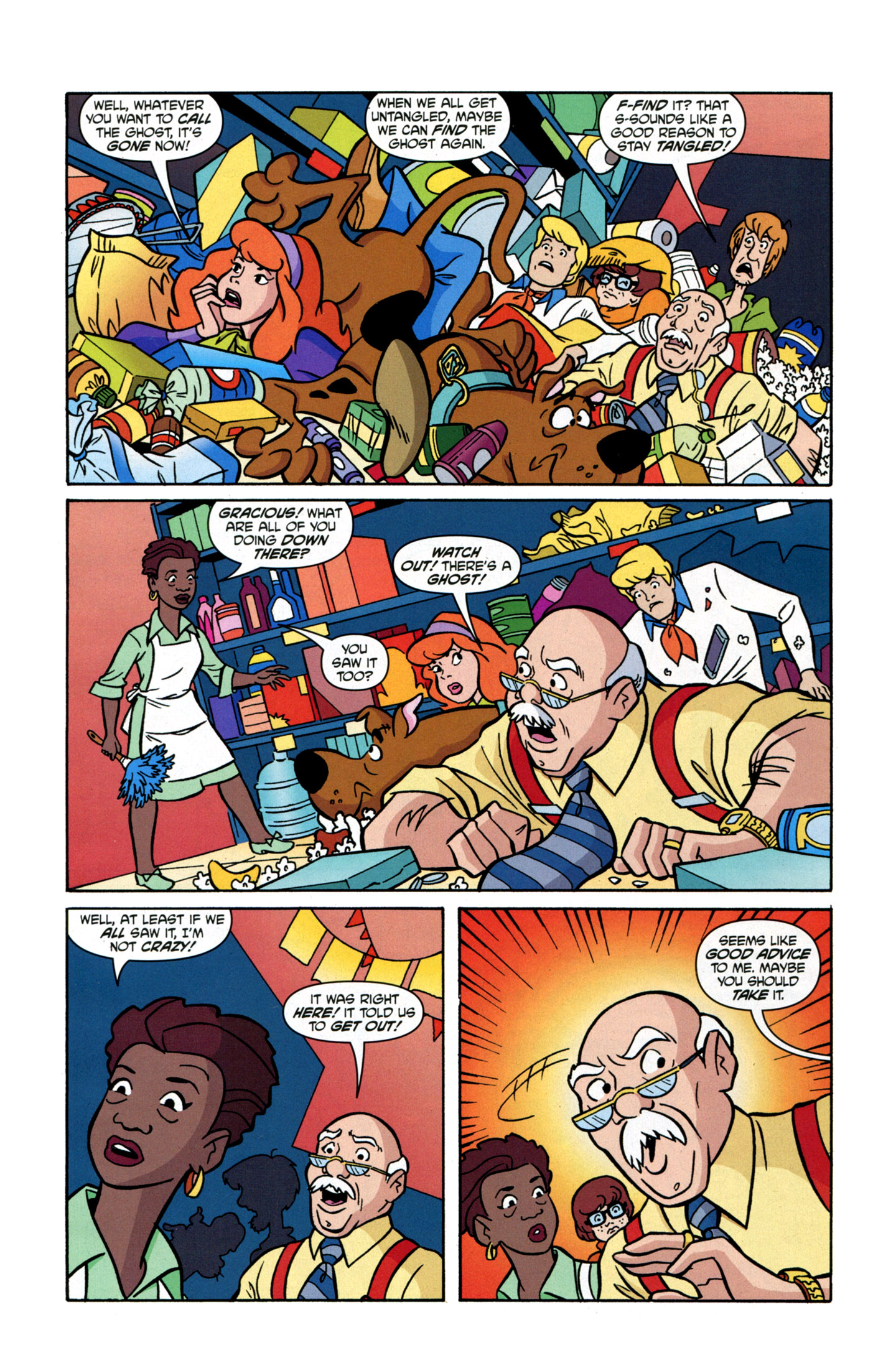 Read online Scooby-Doo: Where Are You? comic -  Issue #17 - 5