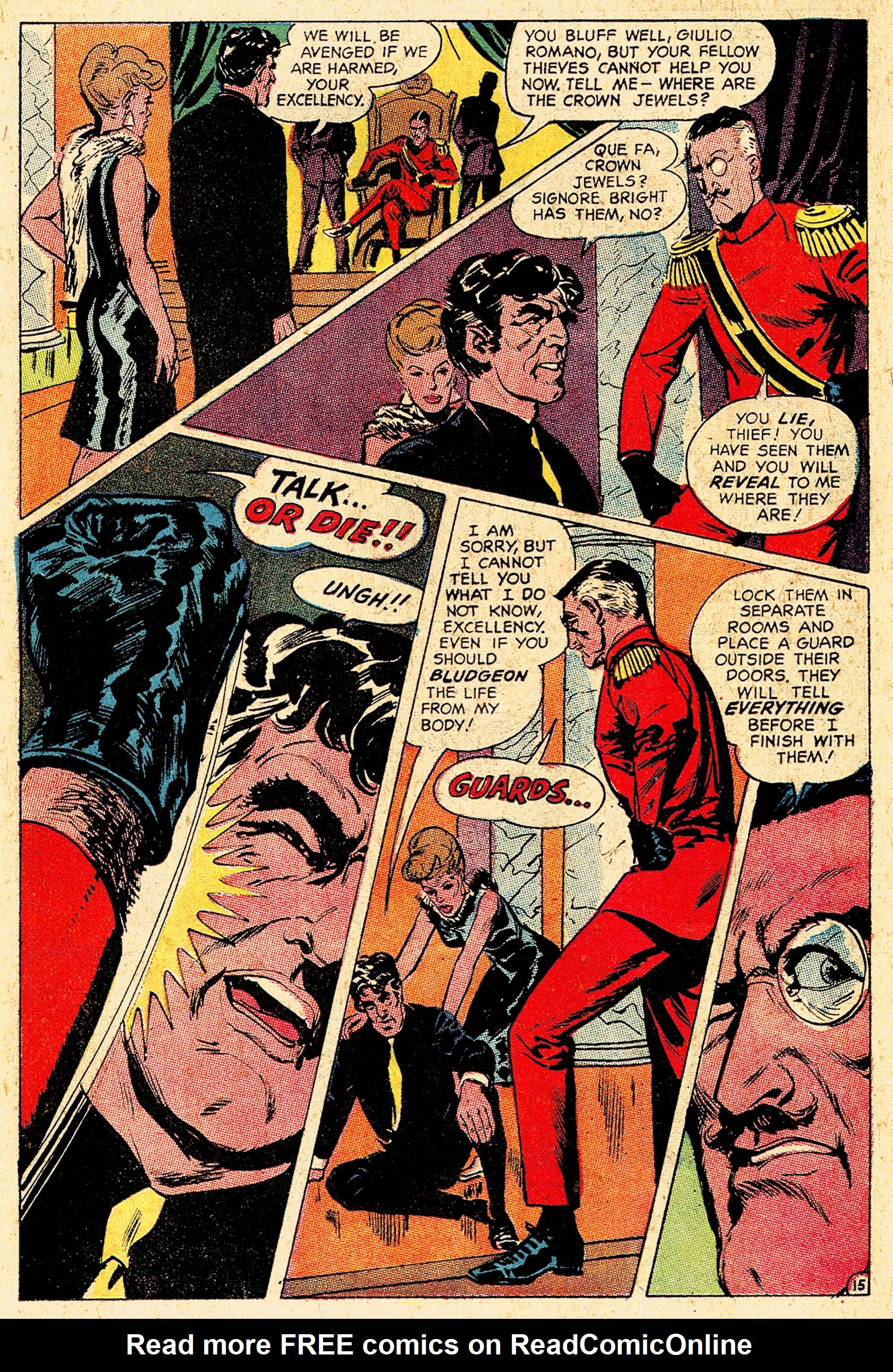 Read online Secret Six (1968) comic -  Issue #5 - 20