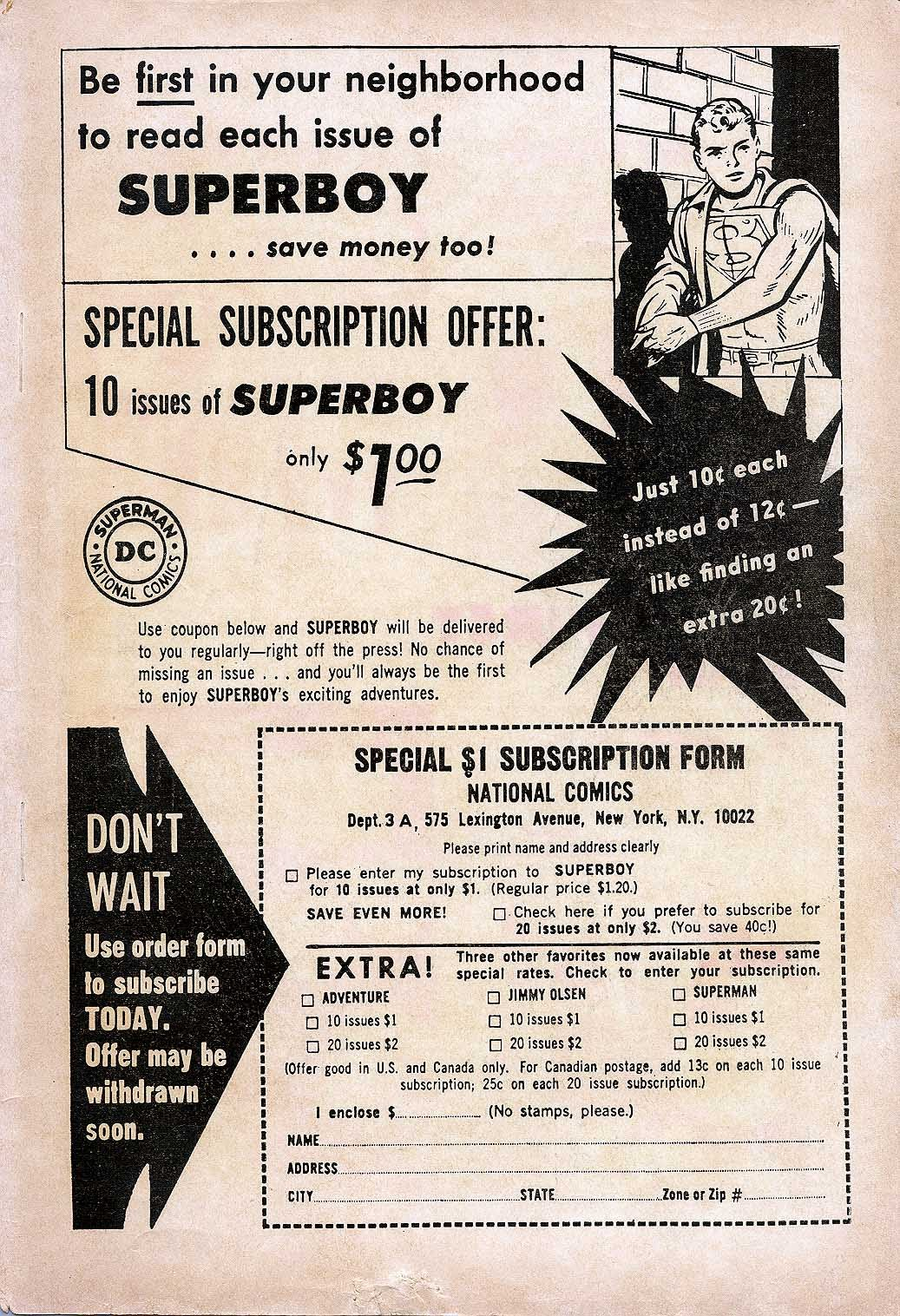 Superboy (1949) issue Annual 1 - Page 83