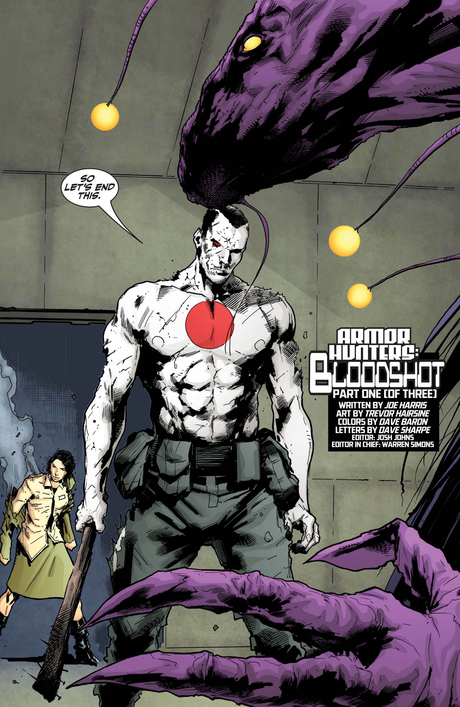 Read online Armor Hunters: Bloodshot comic -  Issue #1 - 27