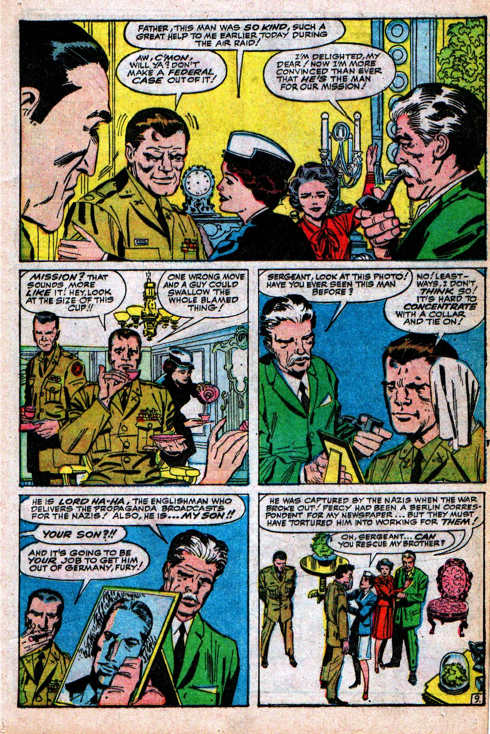Read online Sgt. Fury comic -  Issue #4 - 13