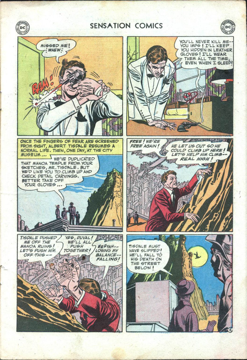 Read online Sensation (Mystery) Comics comic -  Issue #109 - 7