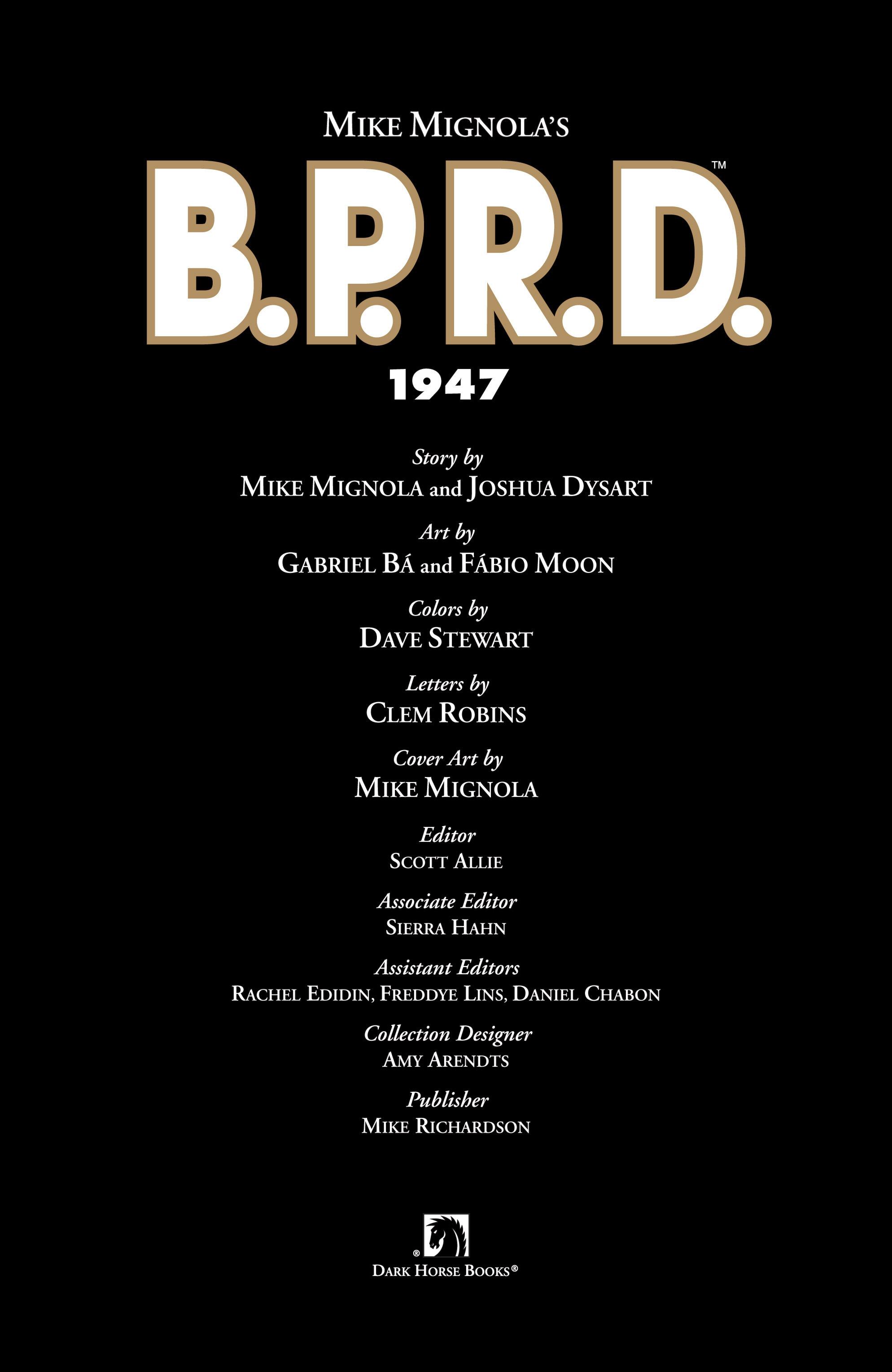 Read online B.P.R.D. (2003) comic -  Issue # TPB 13 - 5