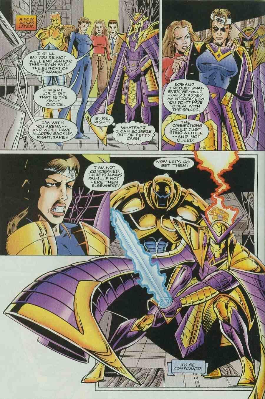 Read online Ultraverse Premiere comic -  Issue #9 - 22