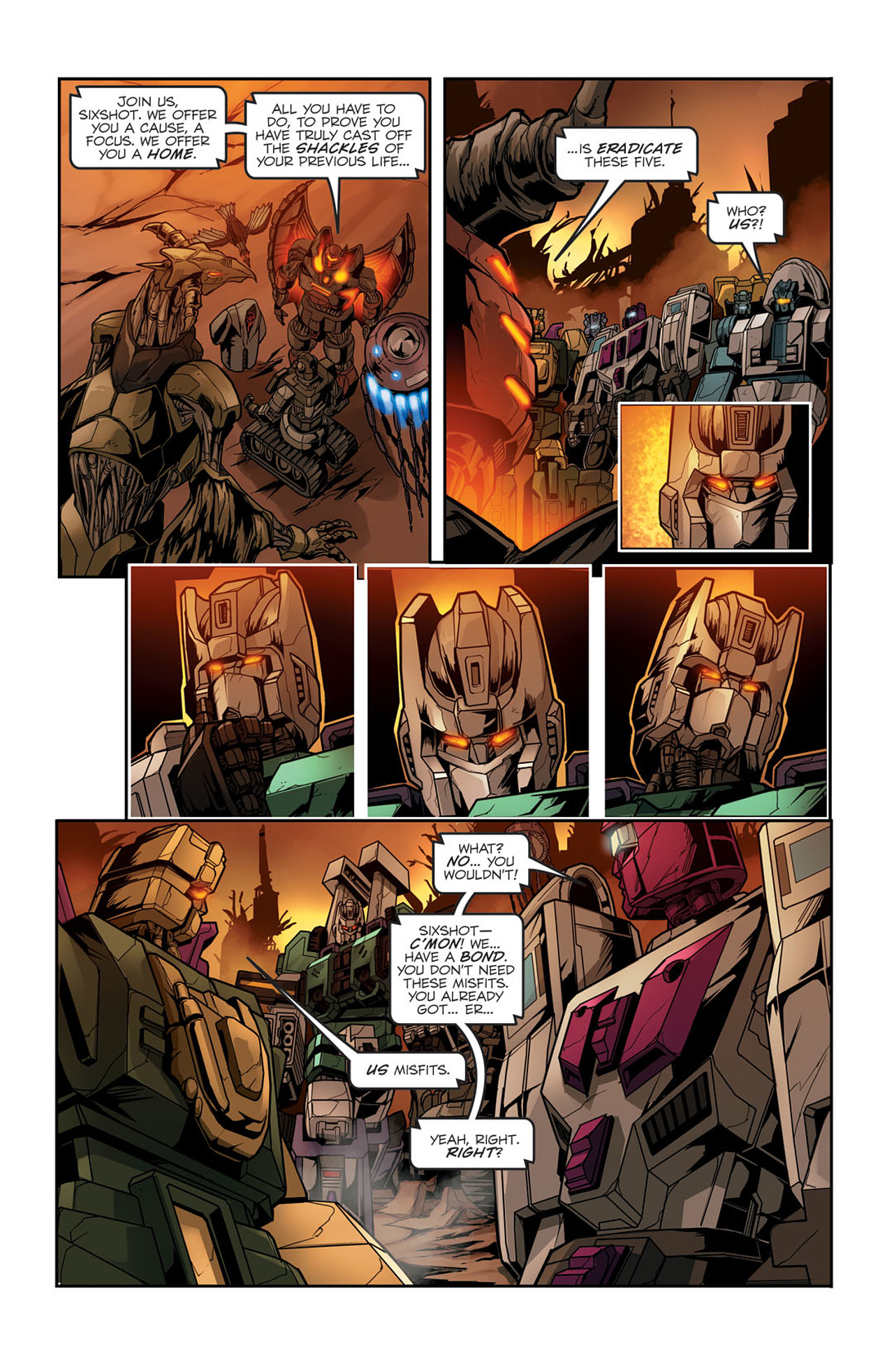 Read online Transformers Spotlight: Sixshot comic -  Issue # Full - 22