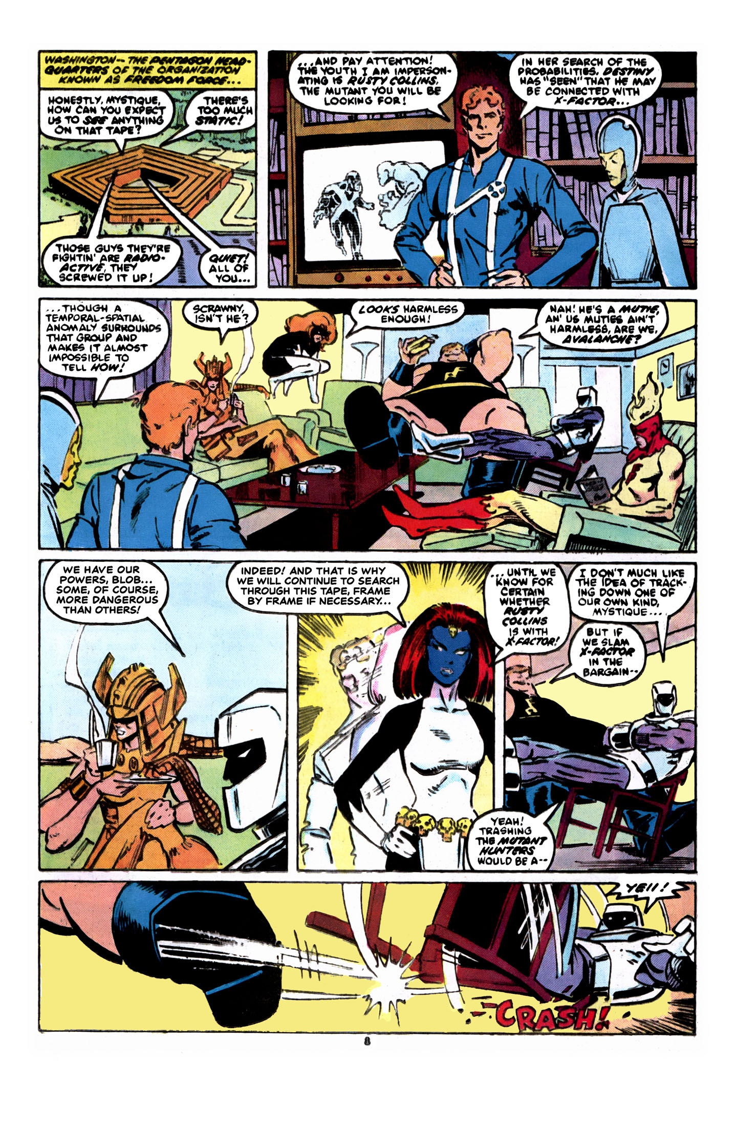 Read online X-Factor (1986) comic -  Issue #8 - 9