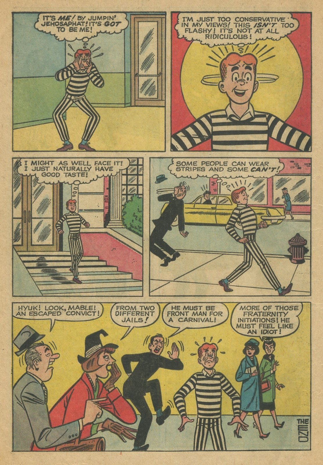 Read online Archie (1960) comic -  Issue #152 - 8