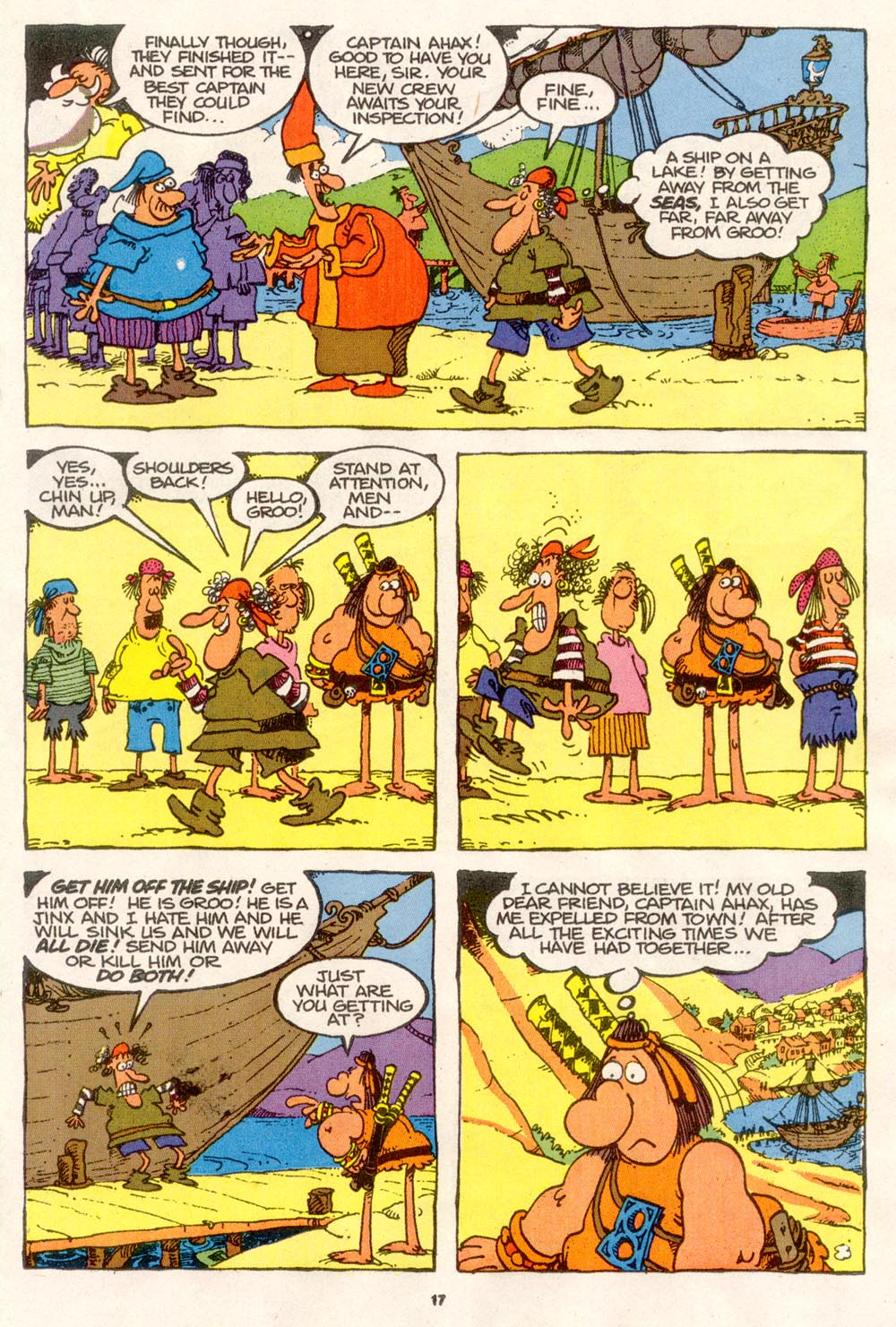 Read online Sergio Aragonés Groo the Wanderer comic -  Issue #76 - 13
