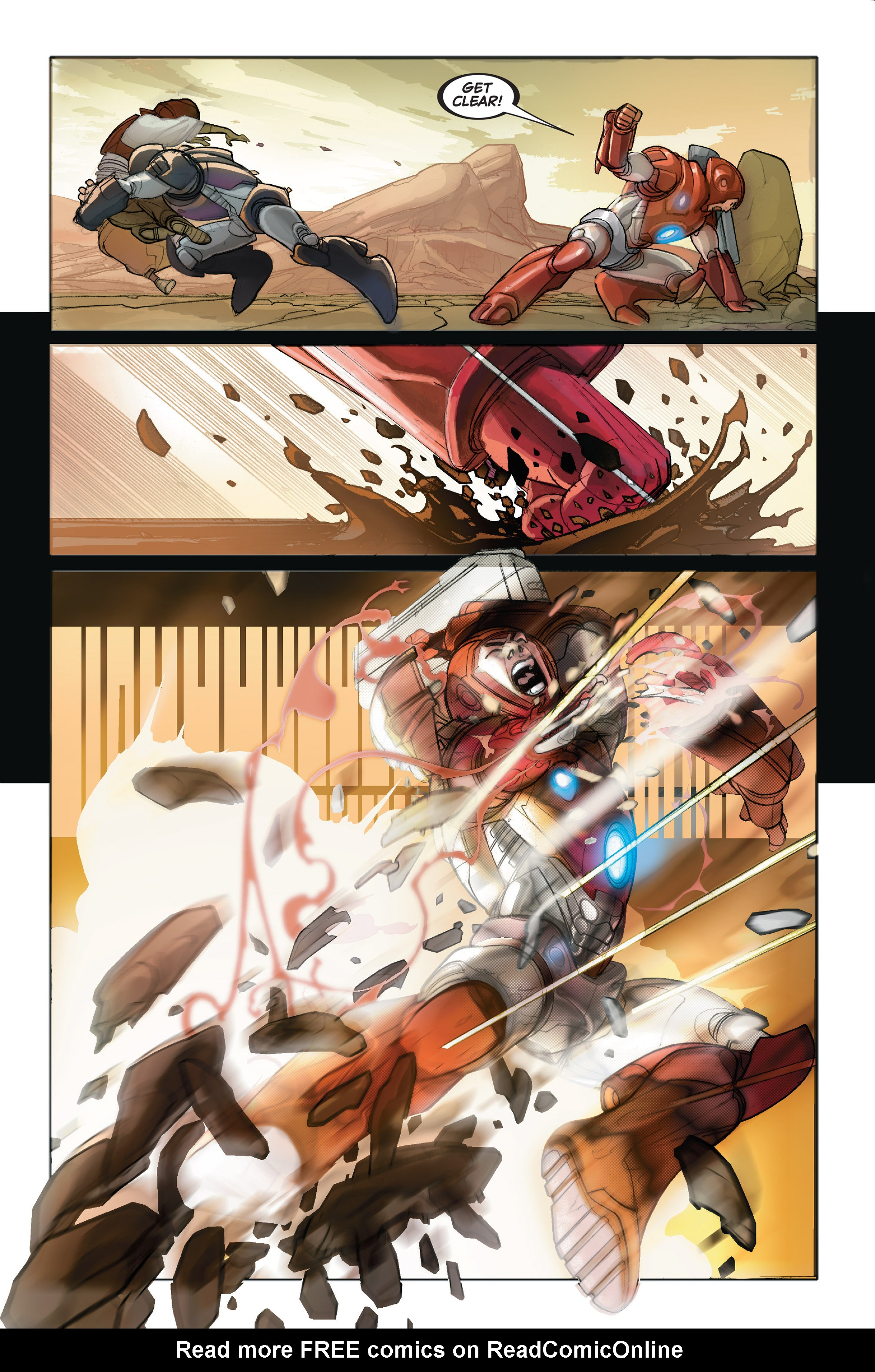 Read online Ultimate Iron Man II comic -  Issue #2 - 6