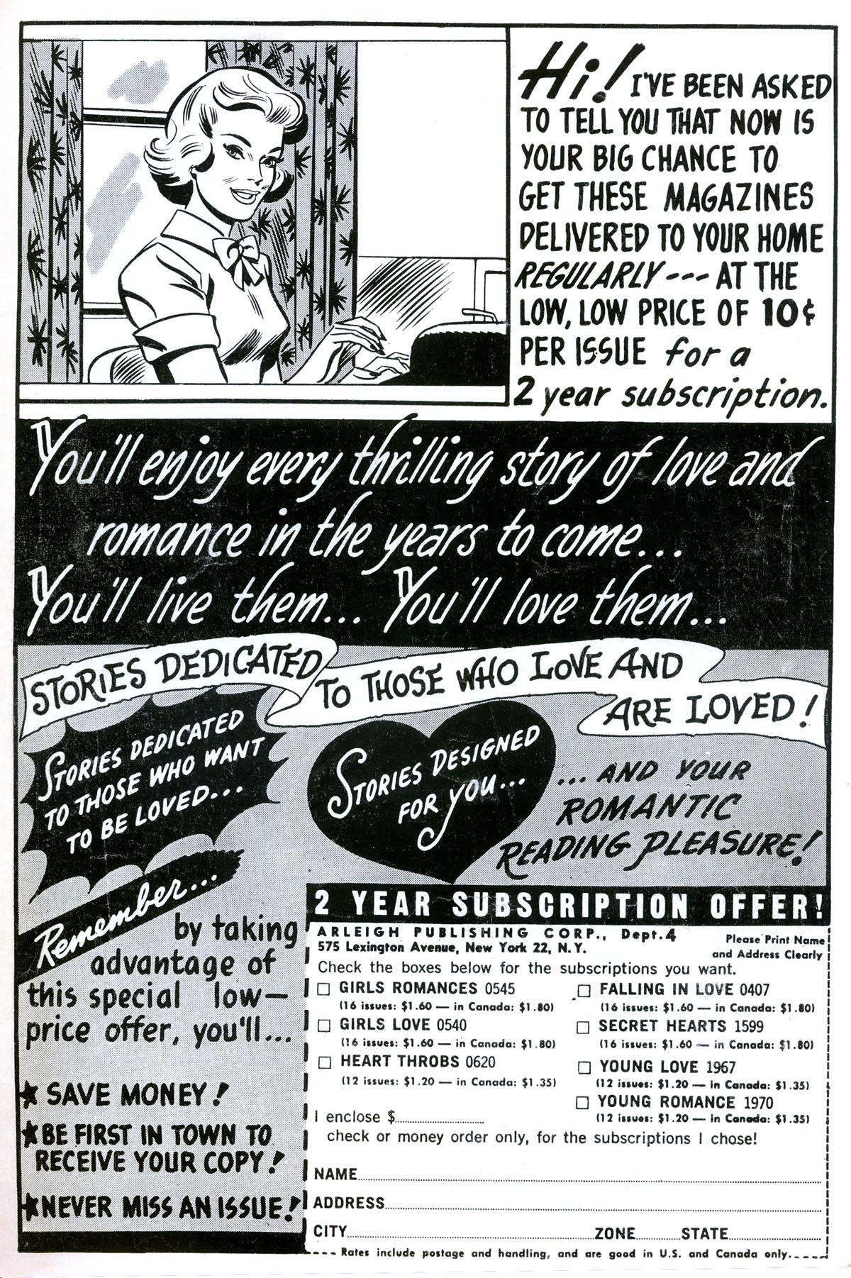 Read online Secret Hearts comic -  Issue #93 - 35