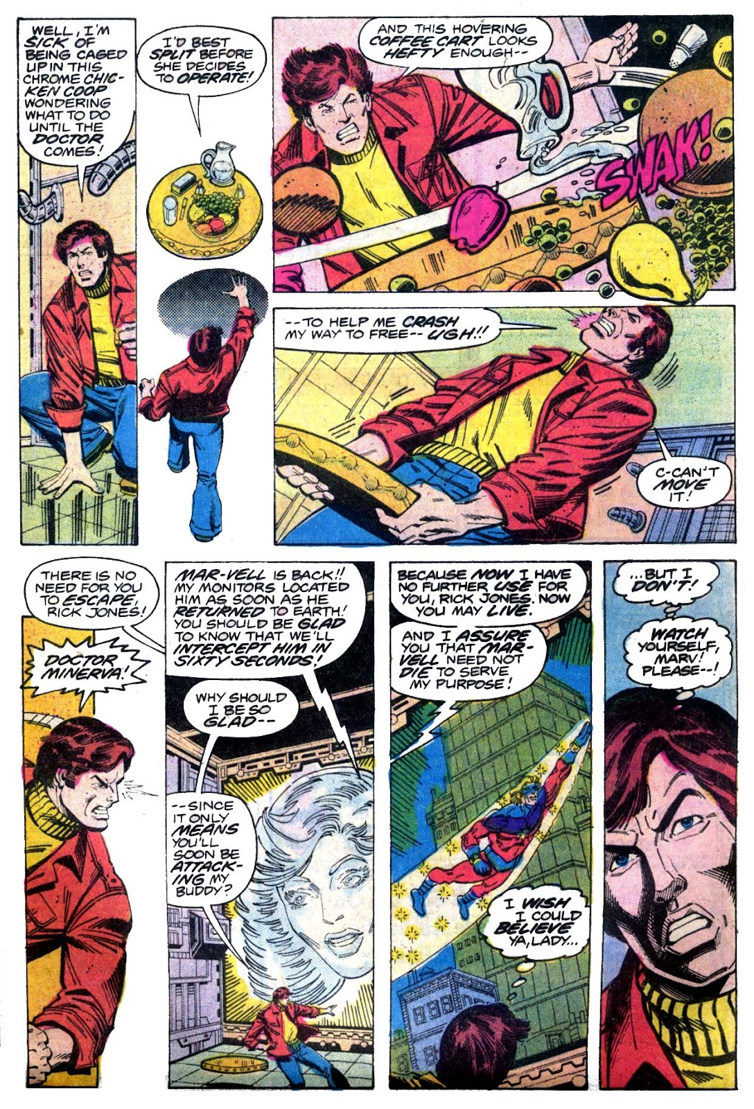 Captain Marvel (1968) issue 52 - Page 4