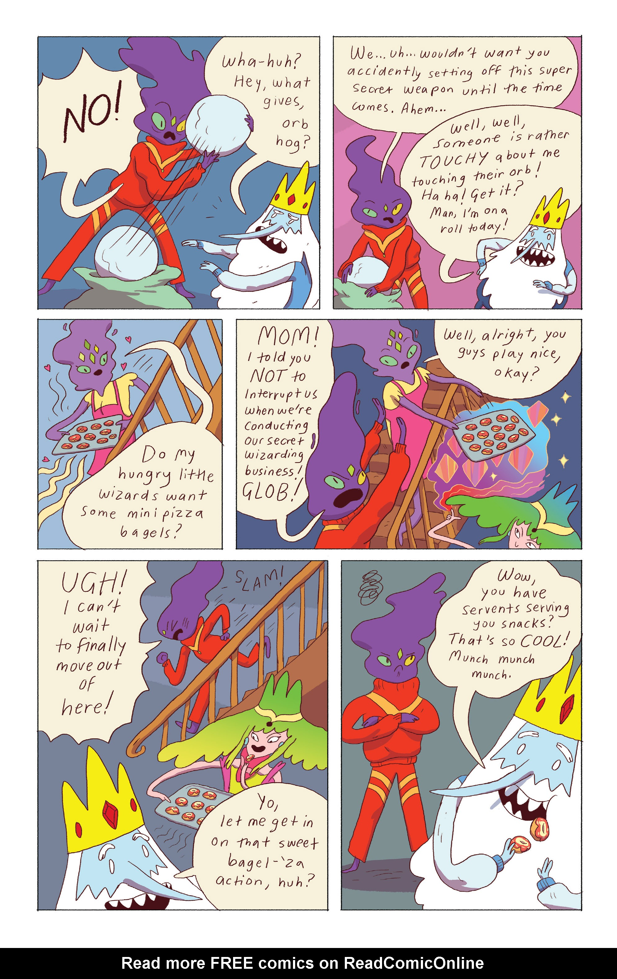 Read online Adventure Time: Ice King comic -  Issue #4 - 20
