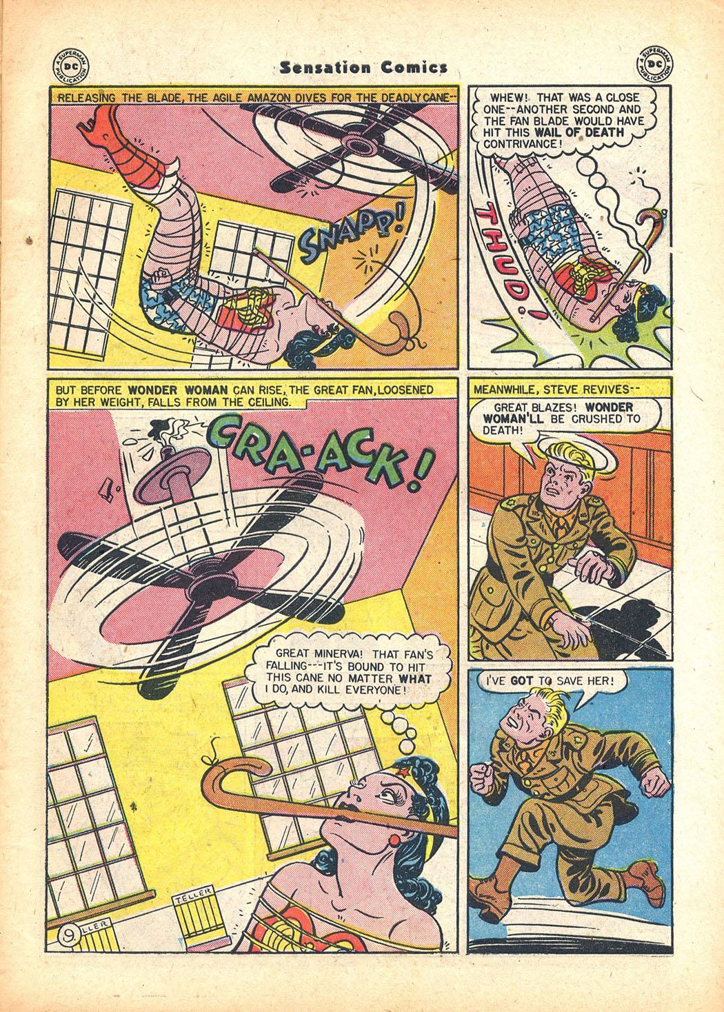 Read online Sensation (Mystery) Comics comic -  Issue #63 - 11