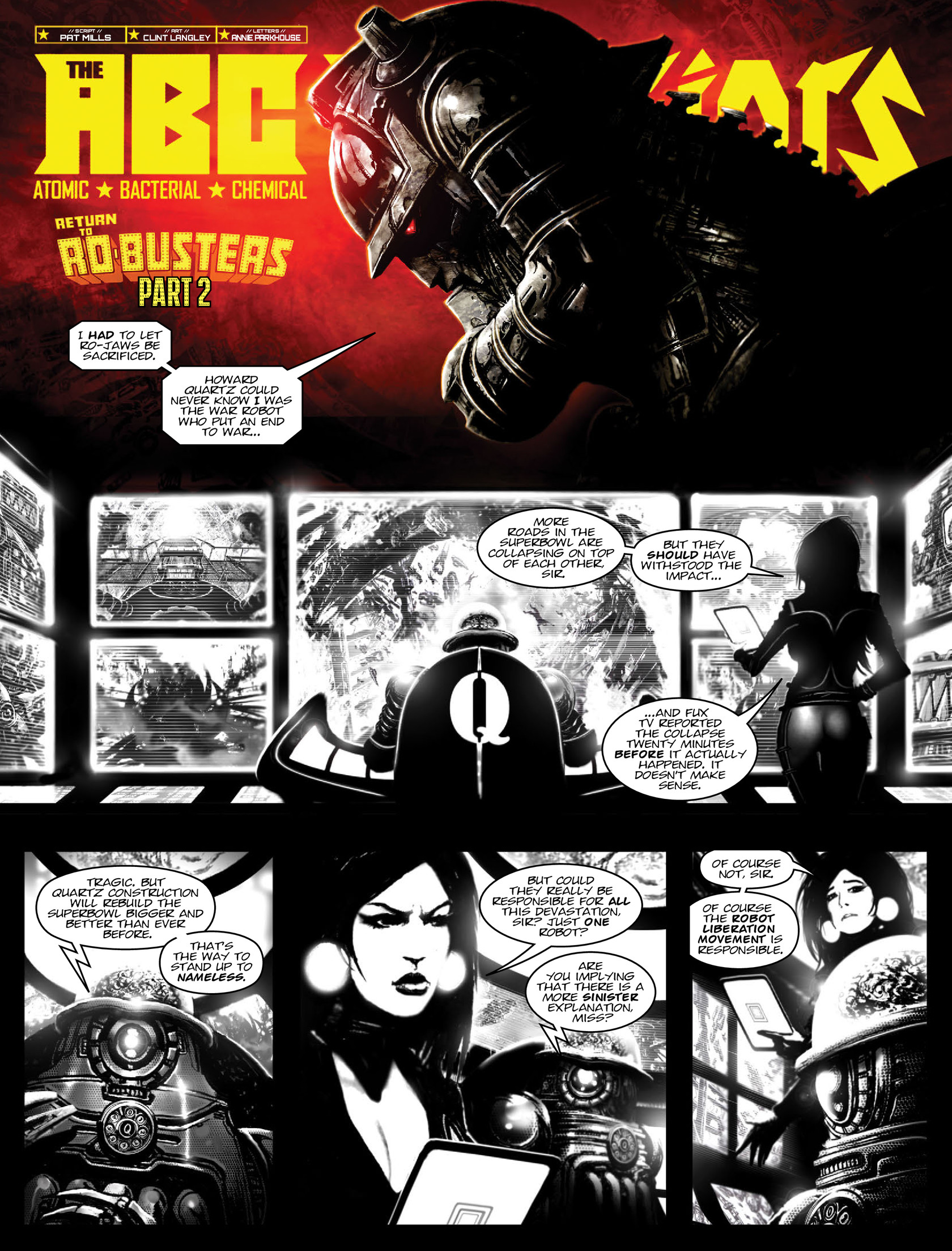 Read online 2000 AD comic -  Issue #1962 - 14