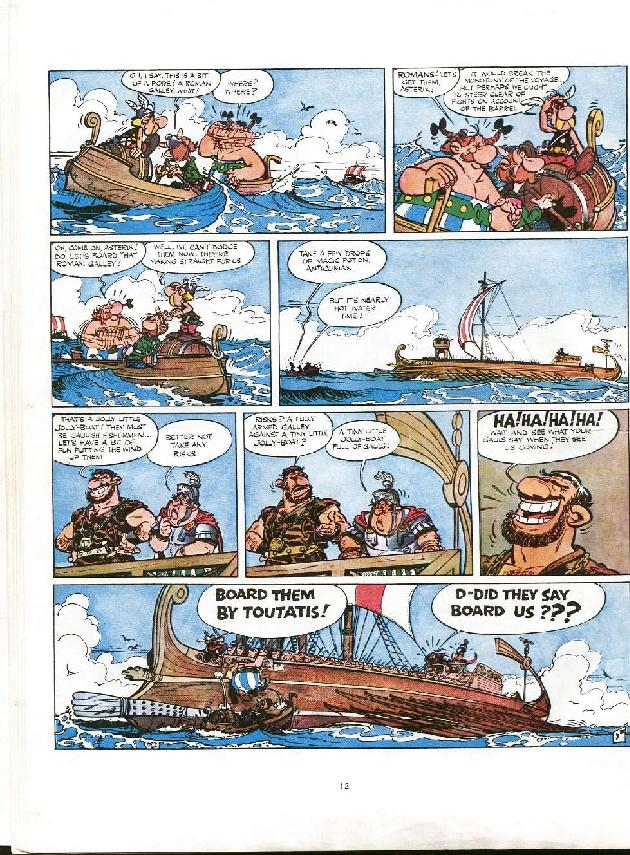 Read online Asterix comic -  Issue #8 - 9