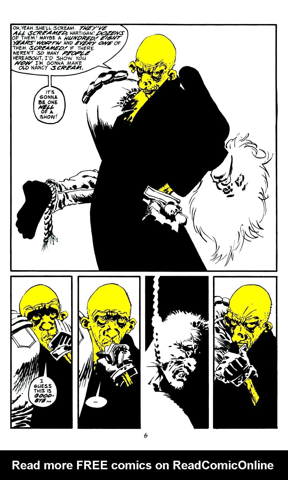 Read online Sin City: That Yellow Bastard comic -  Issue #6 - 7