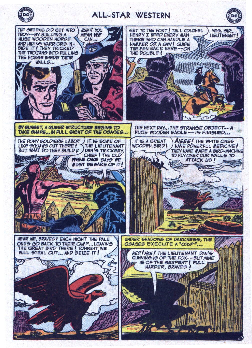 Read online All-Star Western (1951) comic -  Issue #71 - 21