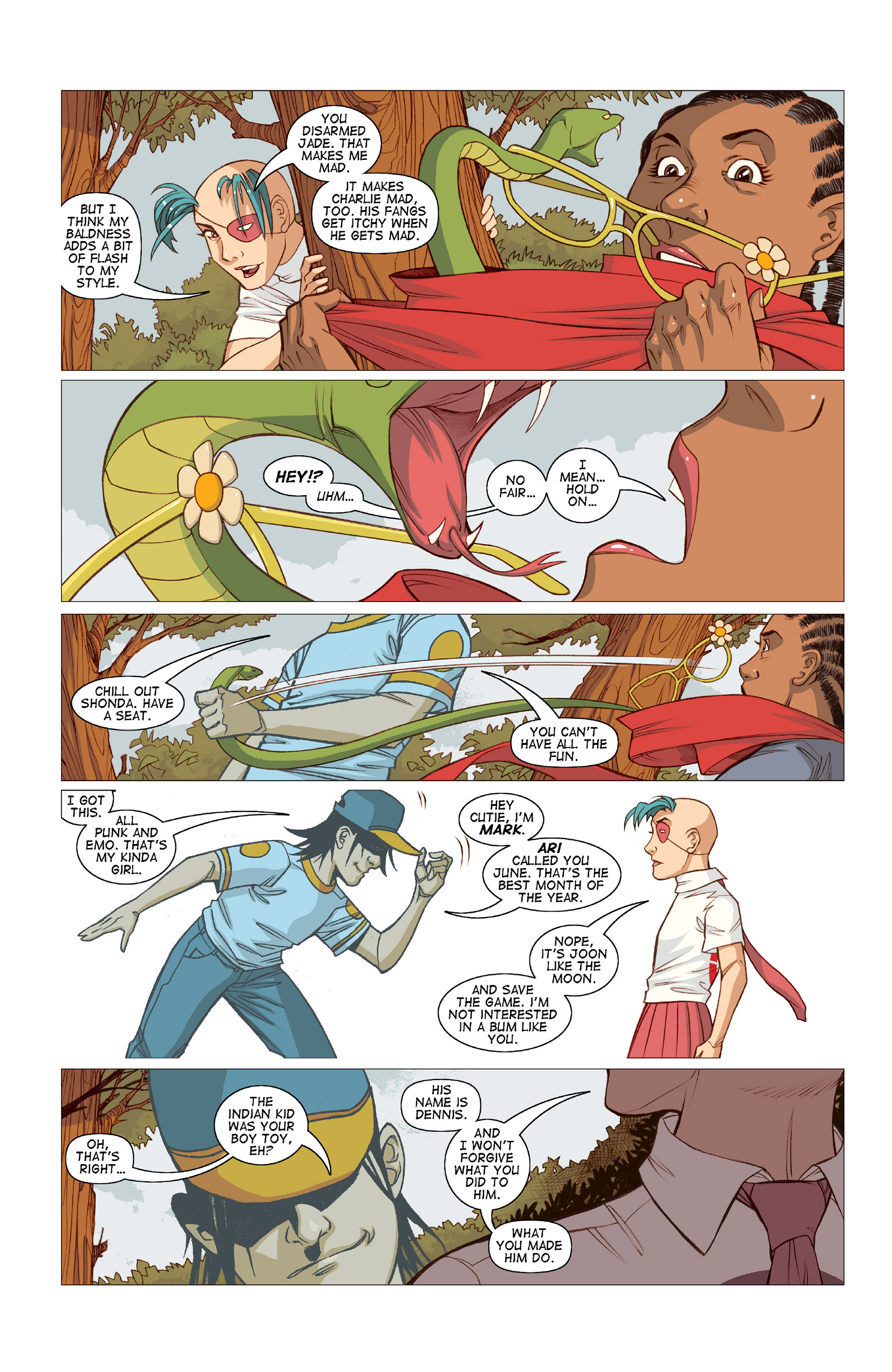 Read online Five Weapons comic -  Issue #10 - 17