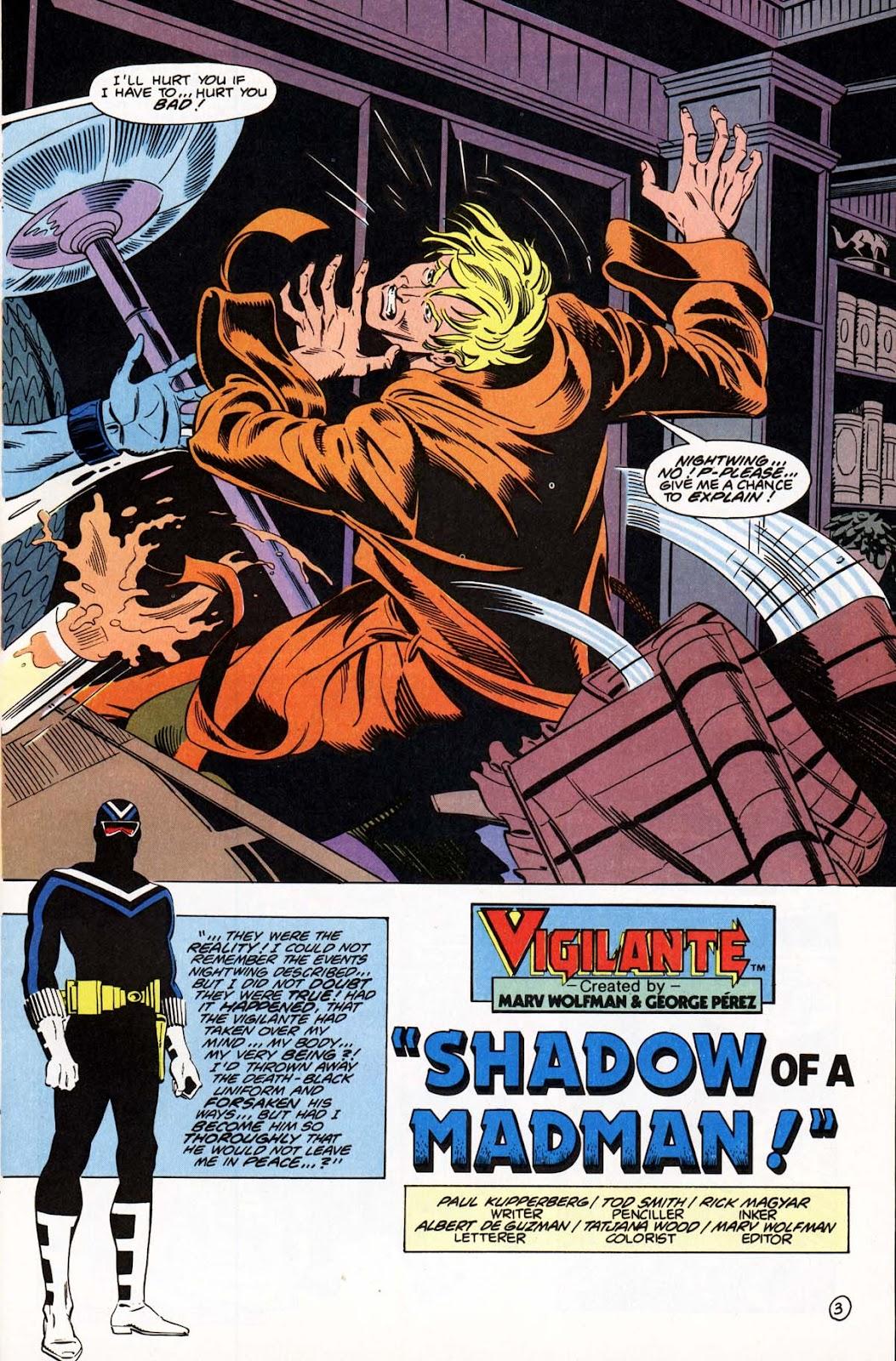 Vigilante (1983) issue 21 - Page 6