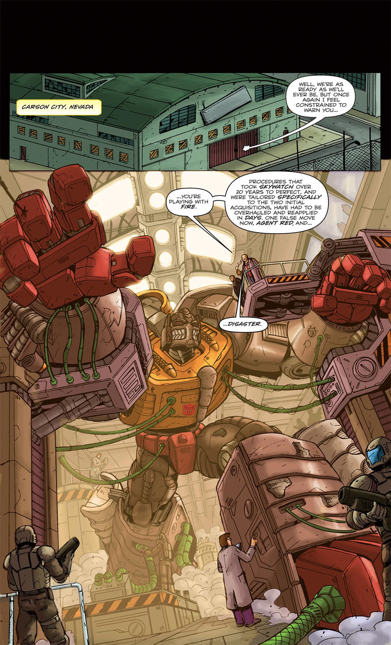 Read online Transformers Spotlight: Grimlock comic -  Issue # Full - 5