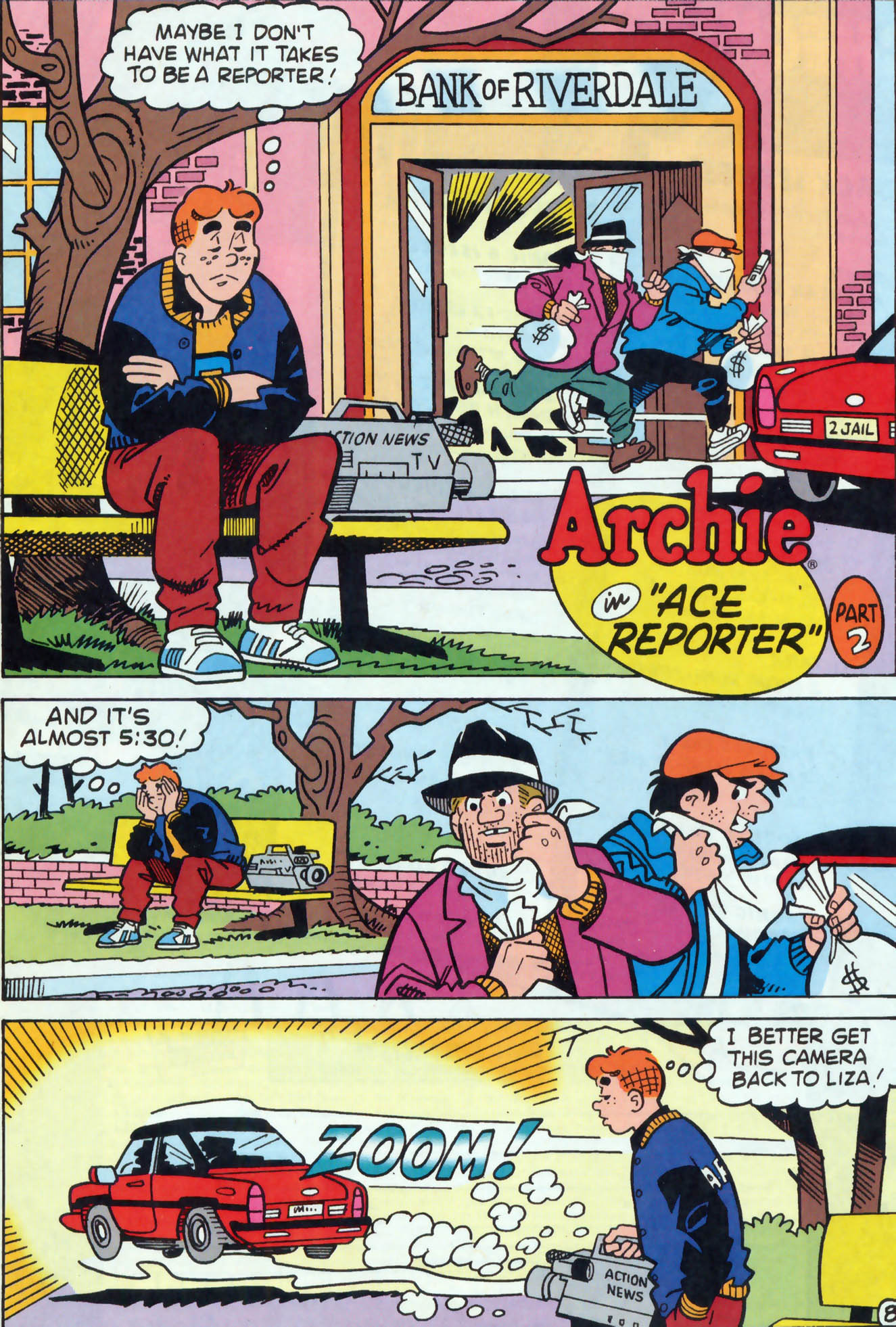 Read online Archie (1960) comic -  Issue #458 - 9