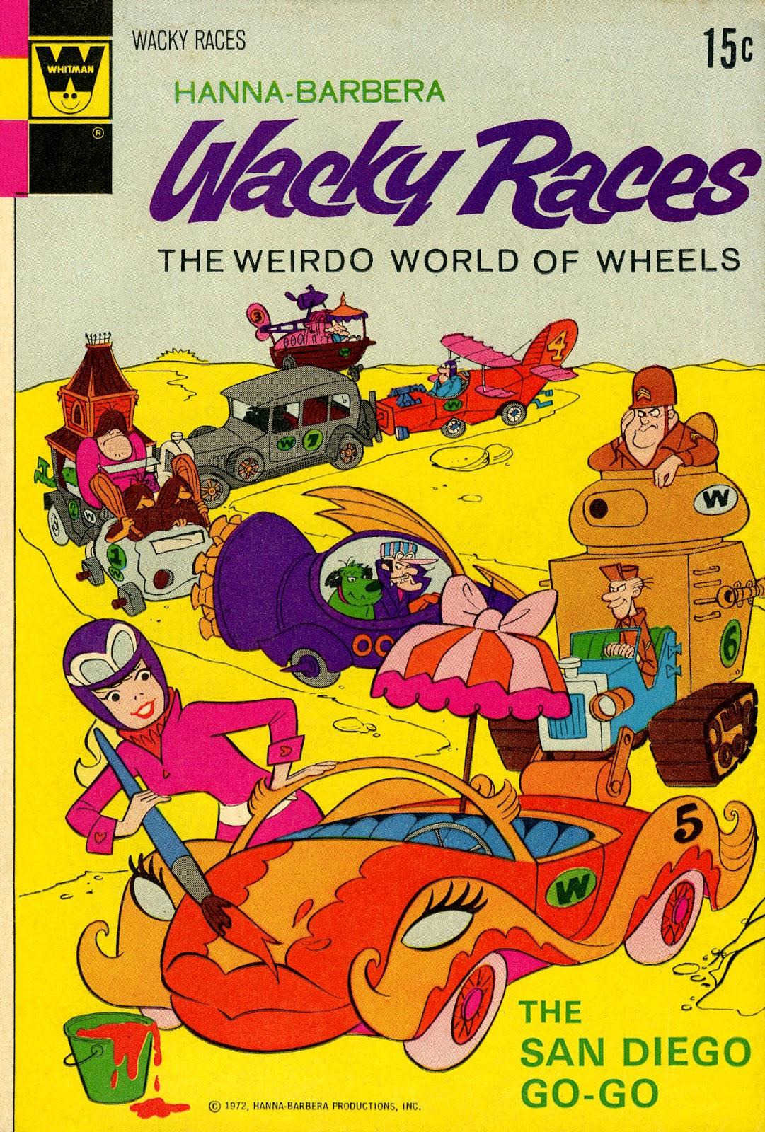 Hanna-Barbera Wacky Races issue 7 - Page 1