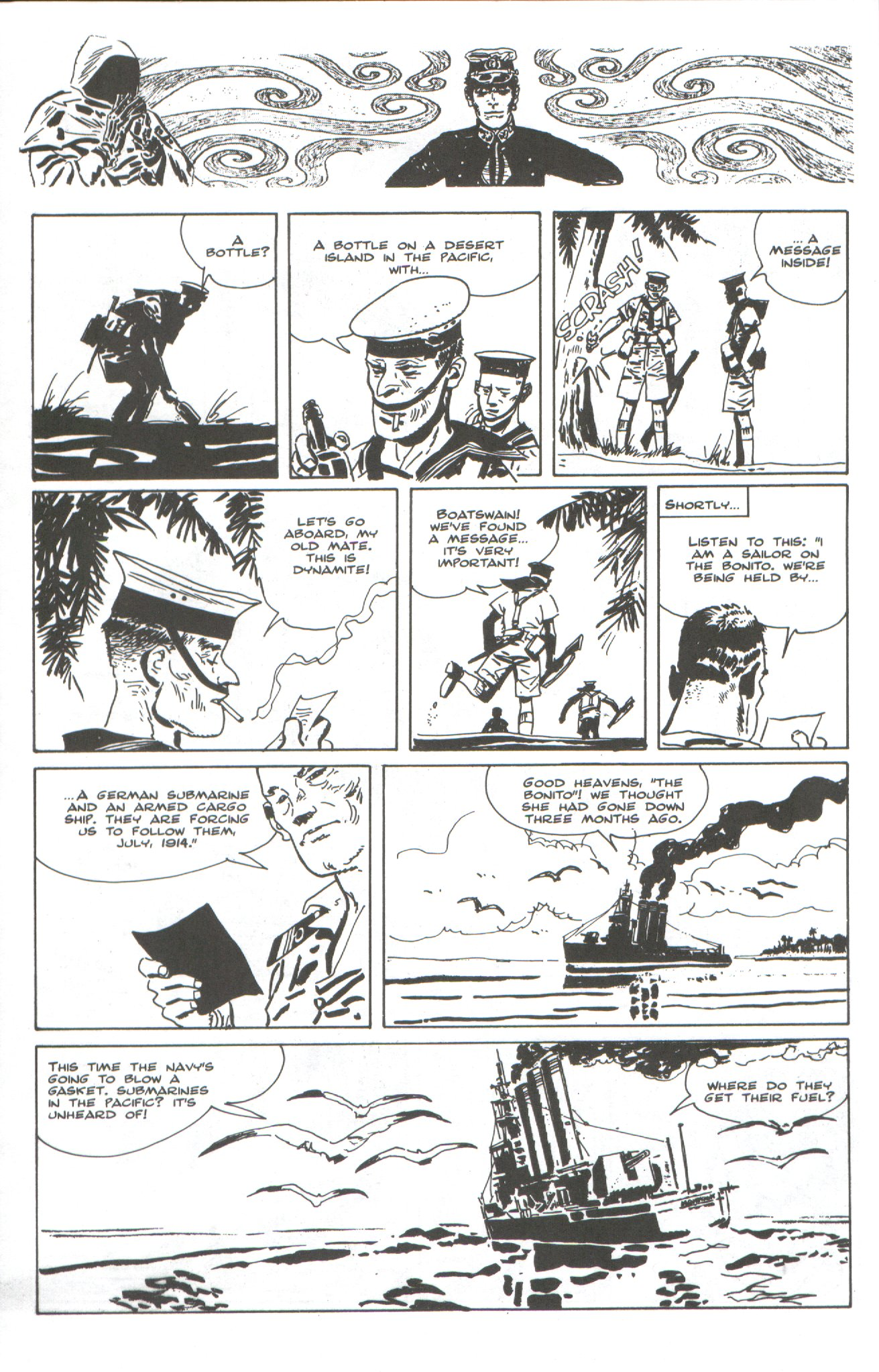 Read online Corto Maltese: Ballad of the Salt Sea comic -  Issue #4 - 24