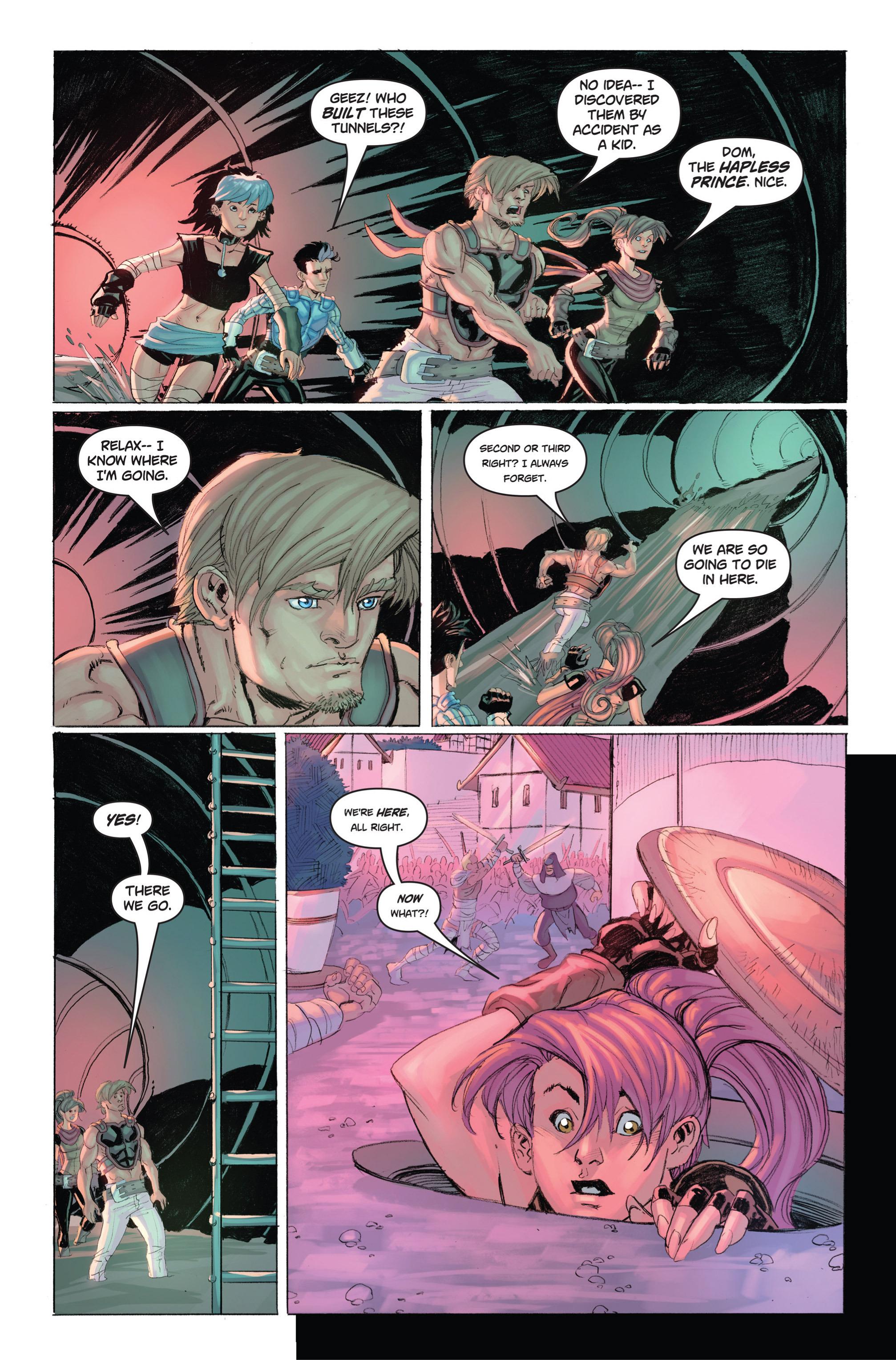 Read online Skyward comic -  Issue #9 - 12