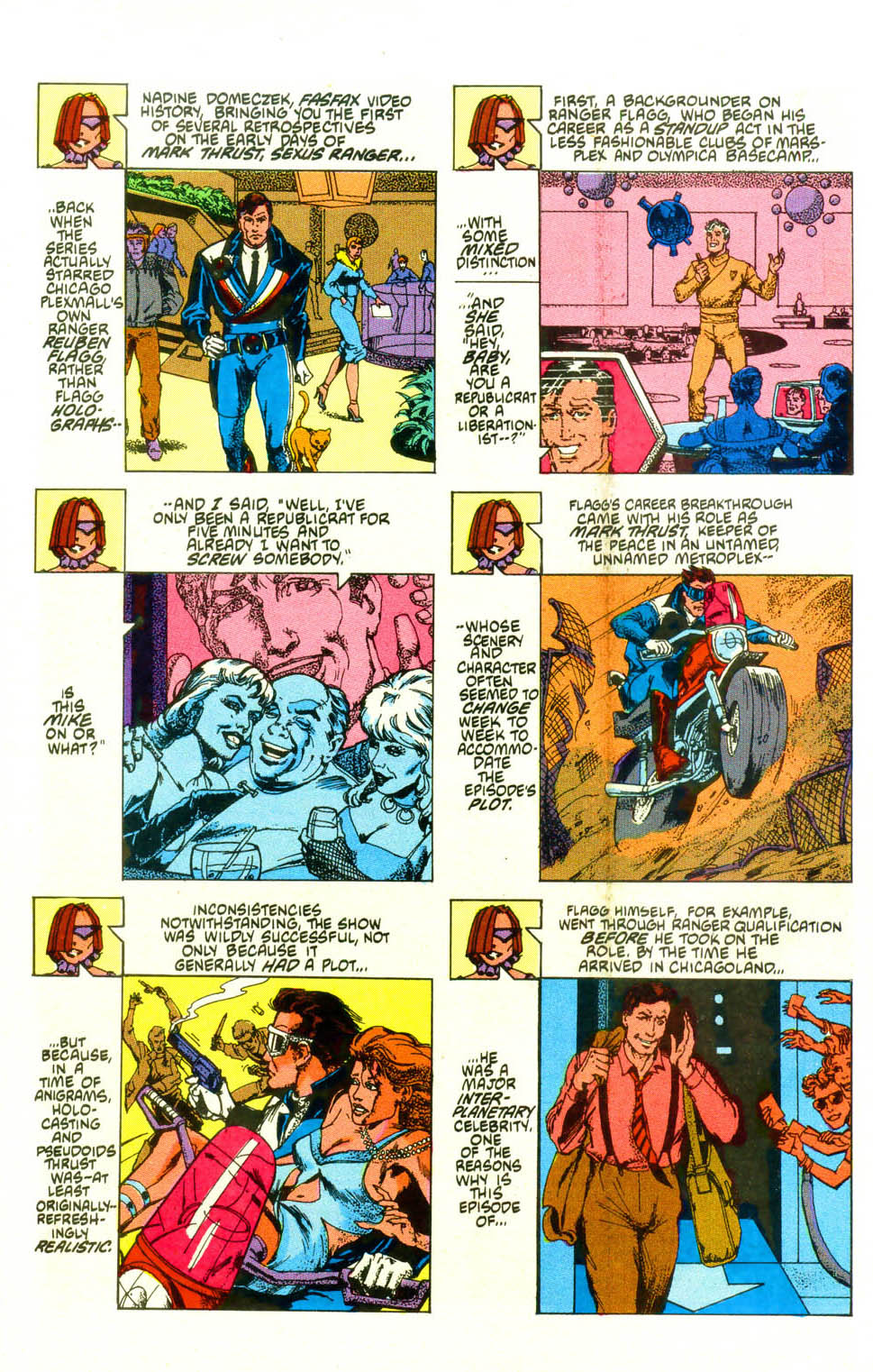 Read online American Flagg! comic -  Issue #19 - 24