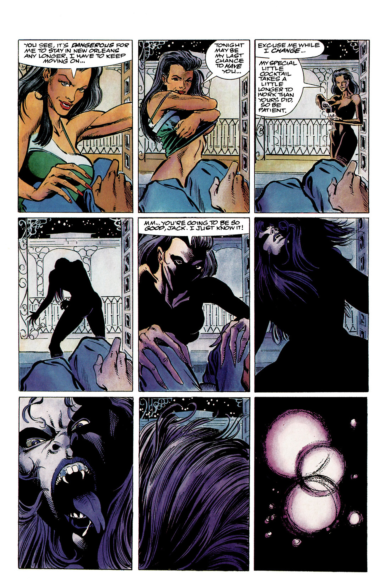 Read online Shadowman (1992) comic -  Issue #1 - 9