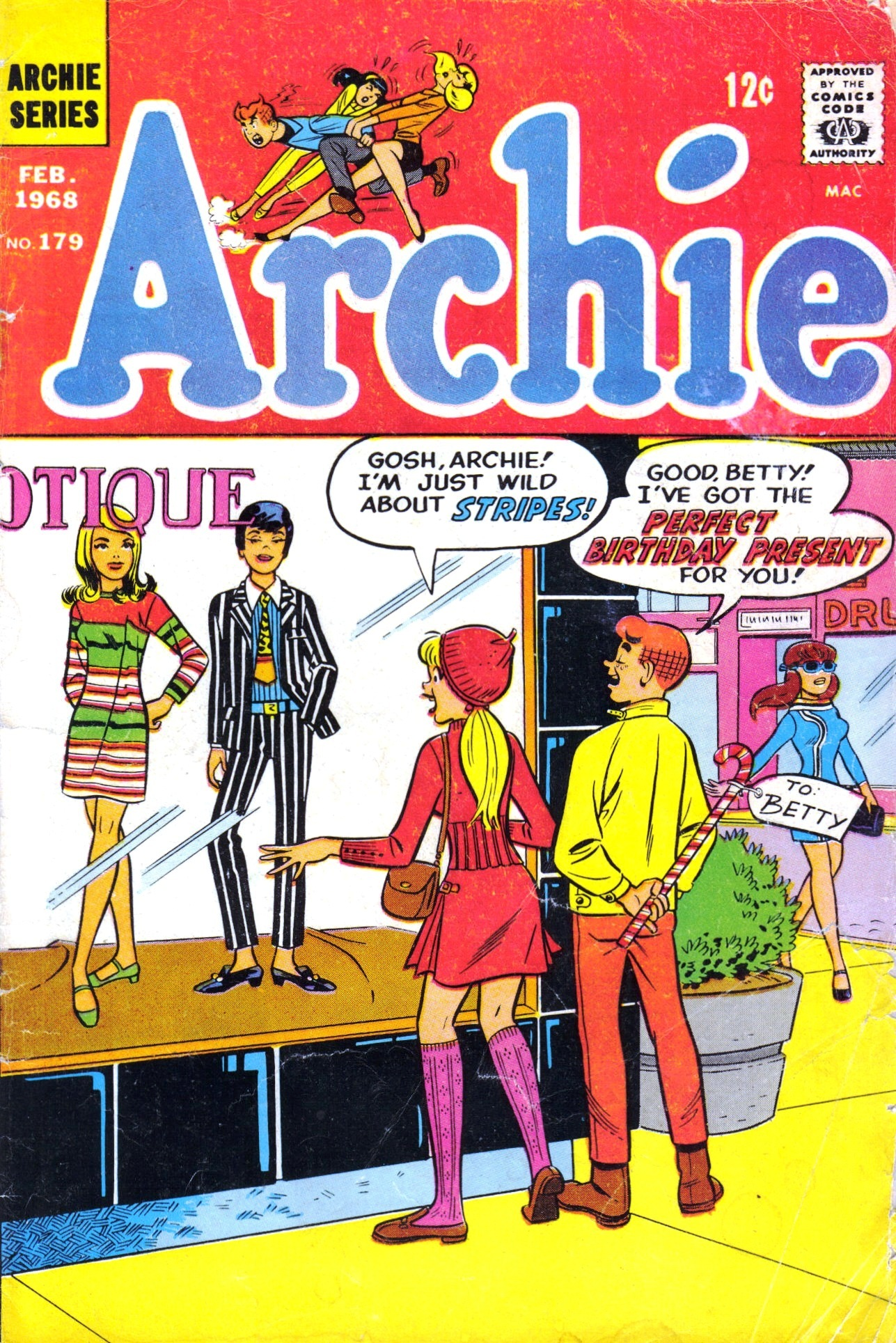 Read online Archie (1960) comic -  Issue #179 - 1