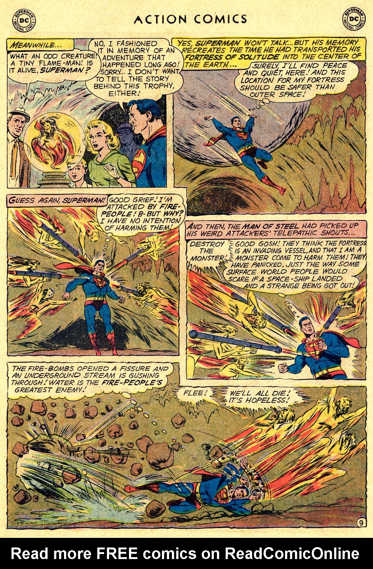 Read online Action Comics (1938) comic -  Issue #261 - 11
