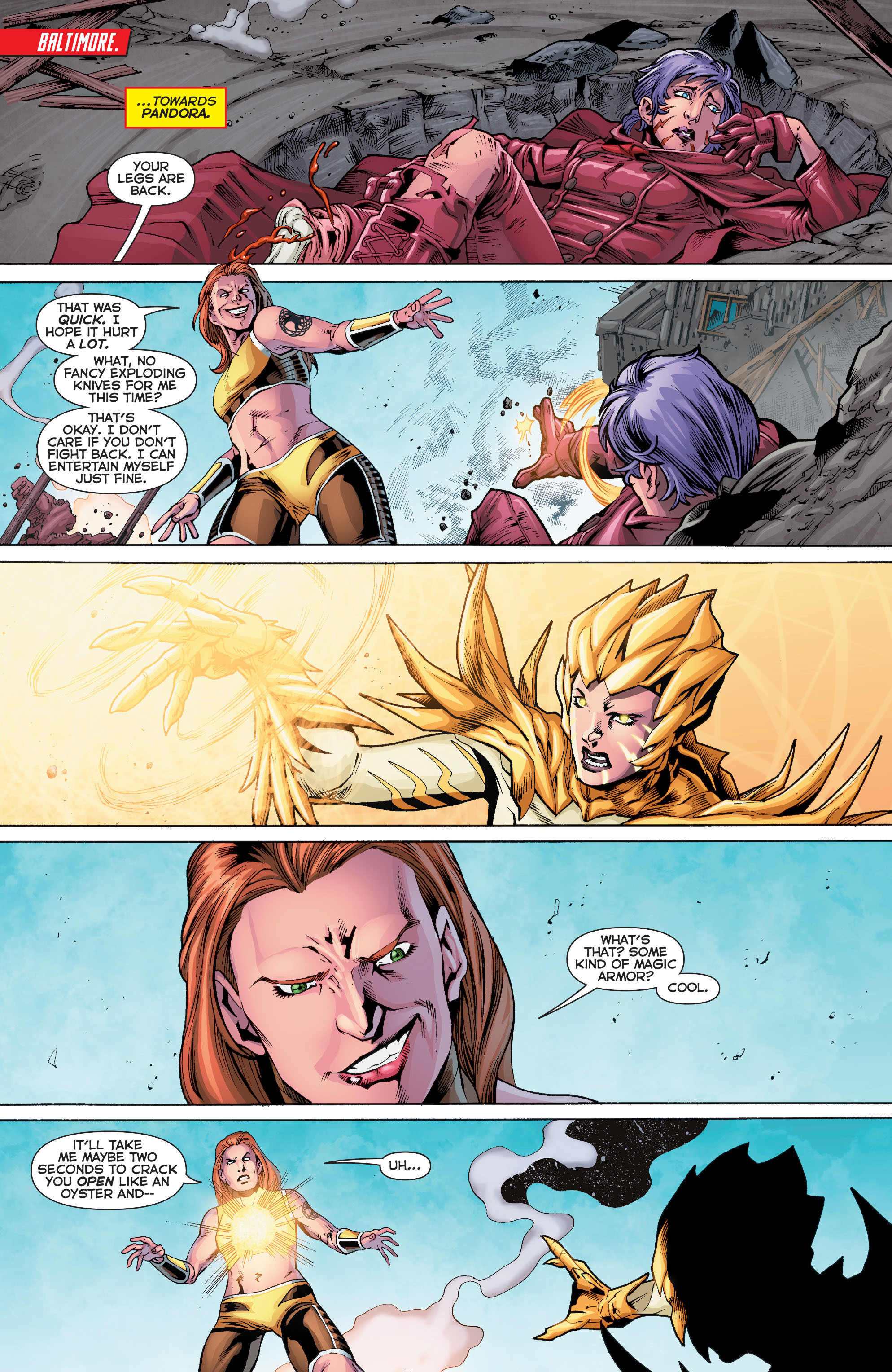 Read online Trinity of Sin: Pandora comic -  Issue #10 - 15