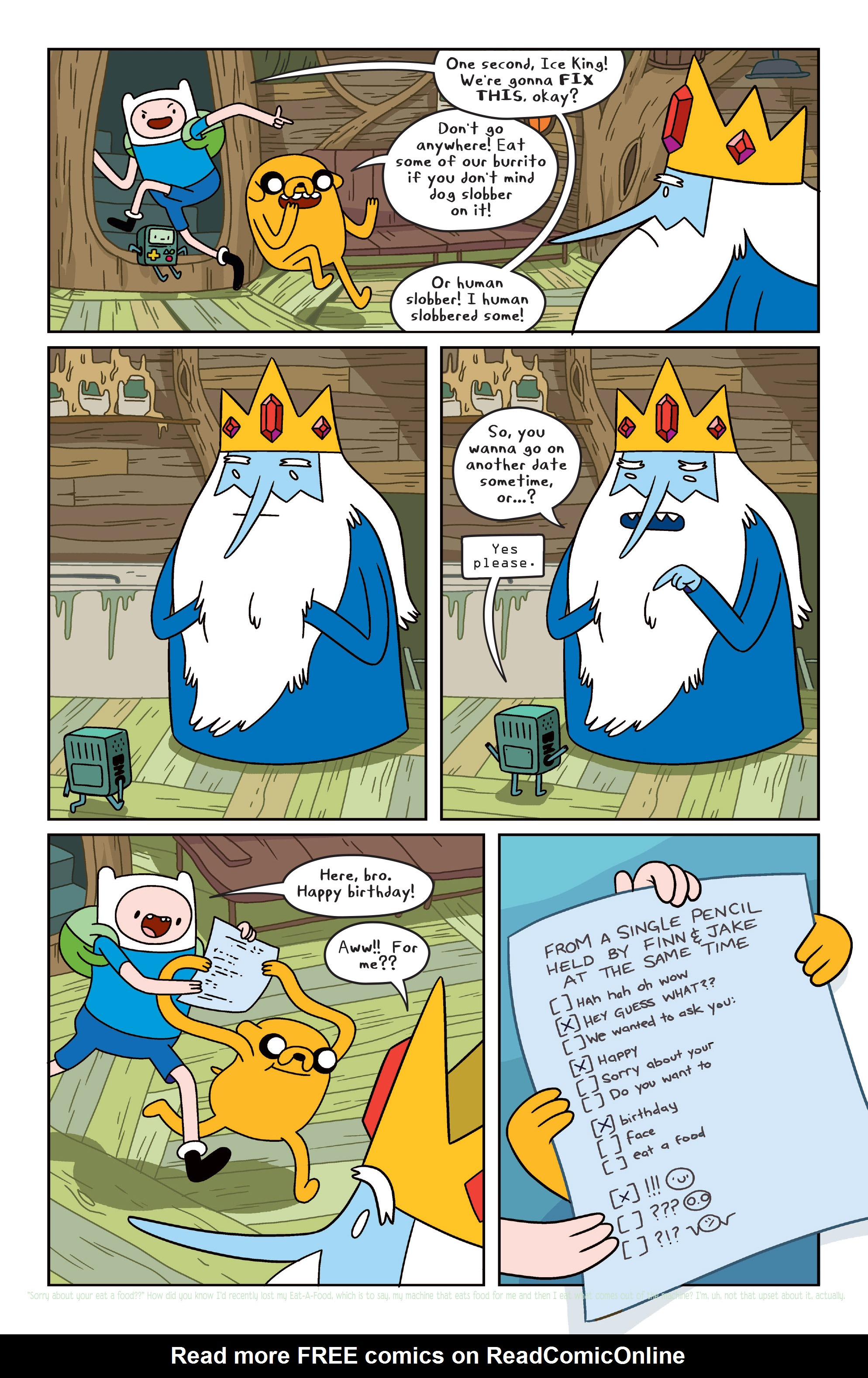 Read online Adventure Time comic -  Issue #31 - 14
