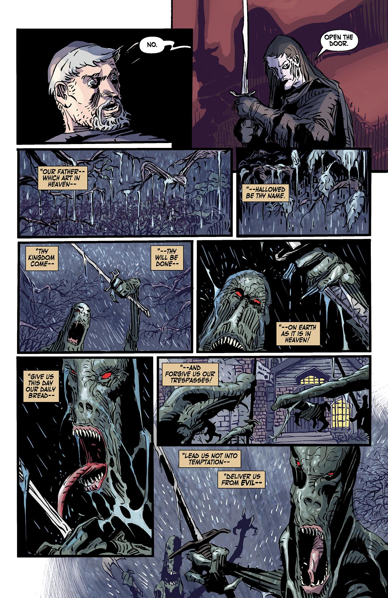 Read online Solomon Kane: Death's Black Riders comic -  Issue #3 - 22