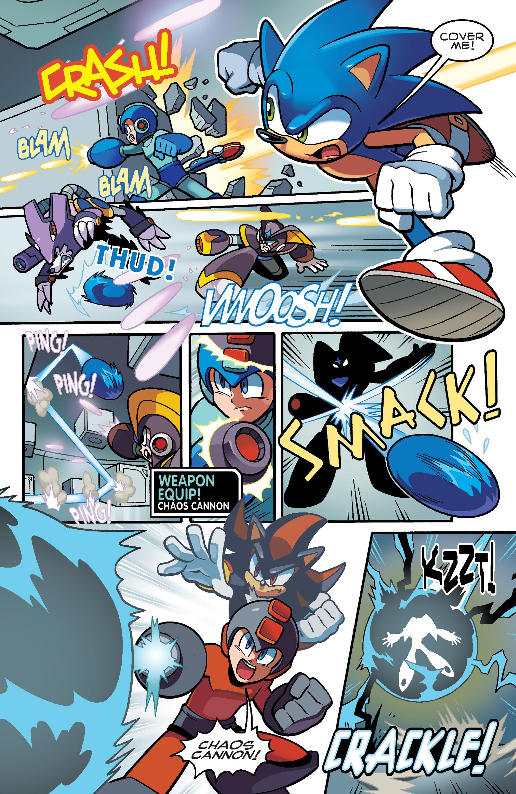 Read online Sonic Mega Man Worlds Collide comic -  Issue # Vol 3 - 82